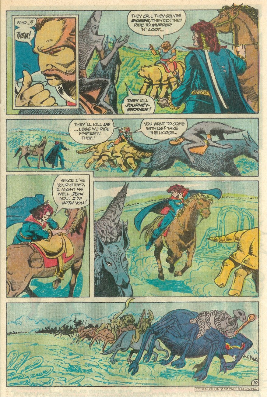 Read online Arion, Lord of Atlantis comic -  Issue #25 - 11