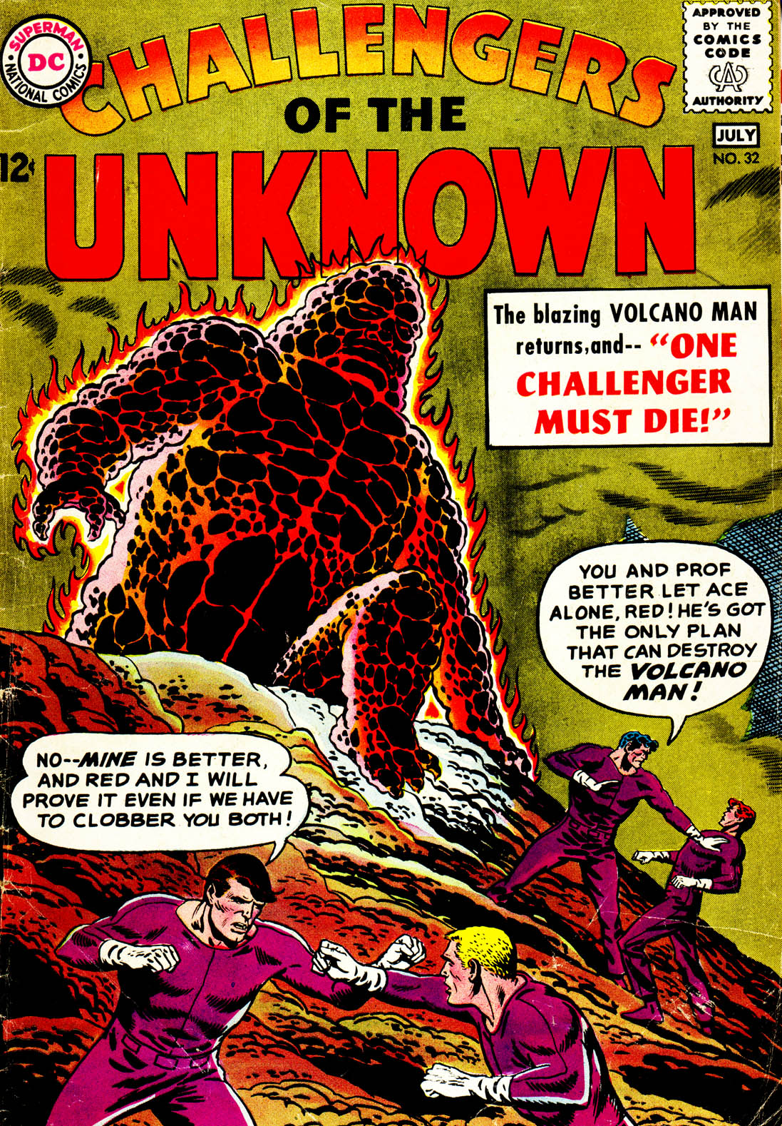 Challengers of the Unknown (1958) 32 Page 1