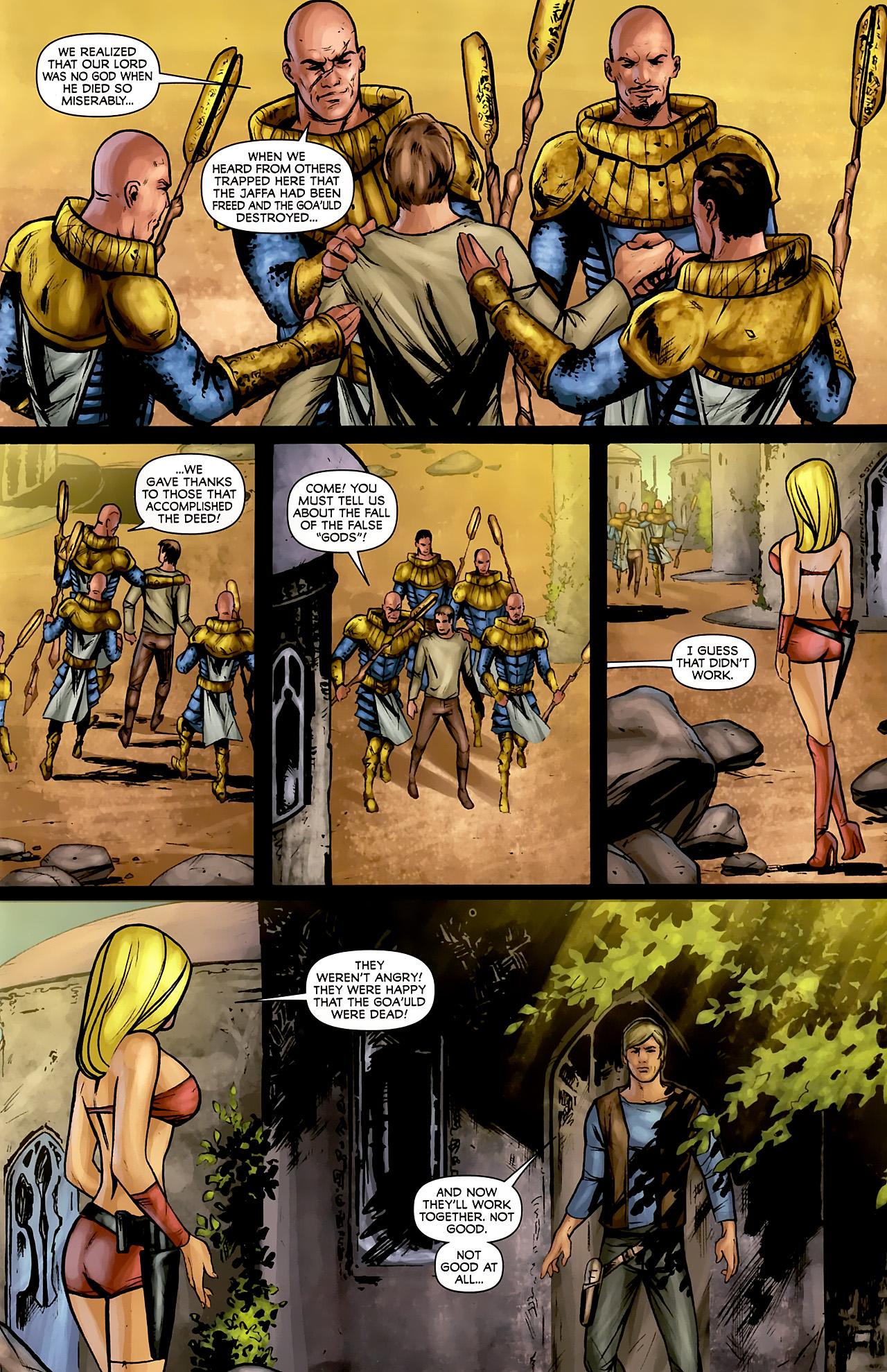 Read online Stargate: Daniel Jackson comic -  Issue #3 - 5