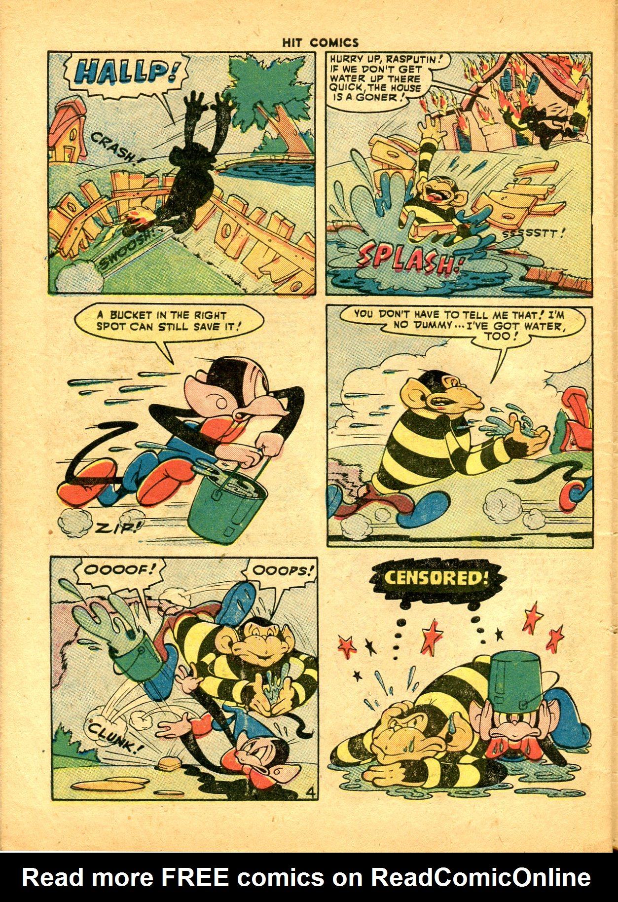 Read online Hit Comics comic -  Issue #49 - 48