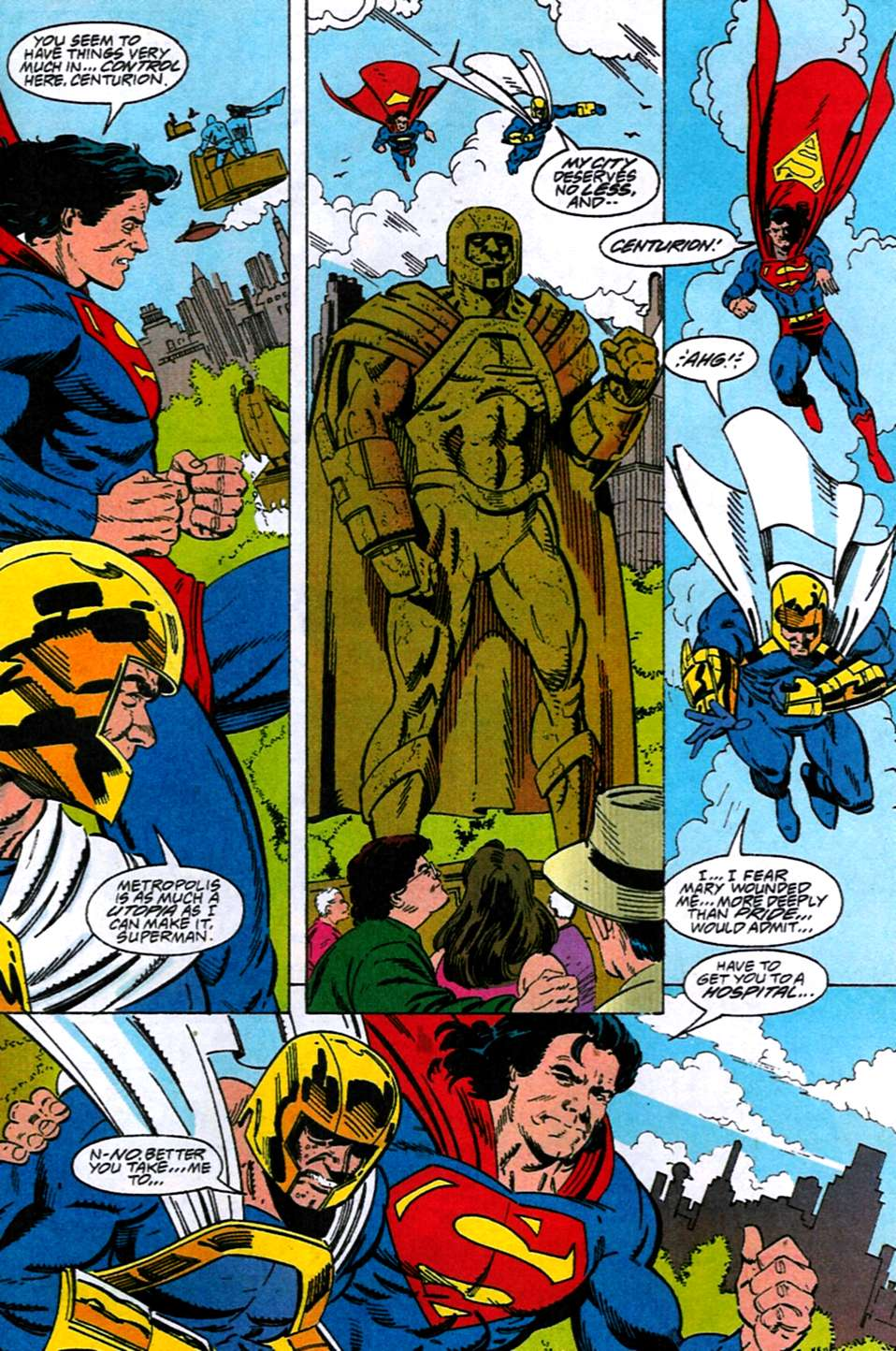 Read online Adventures of Superman (1987) comic -  Issue #516 - 14