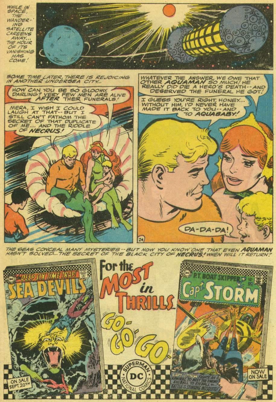 Read online Aquaman (1962) comic -  Issue #30 - 33