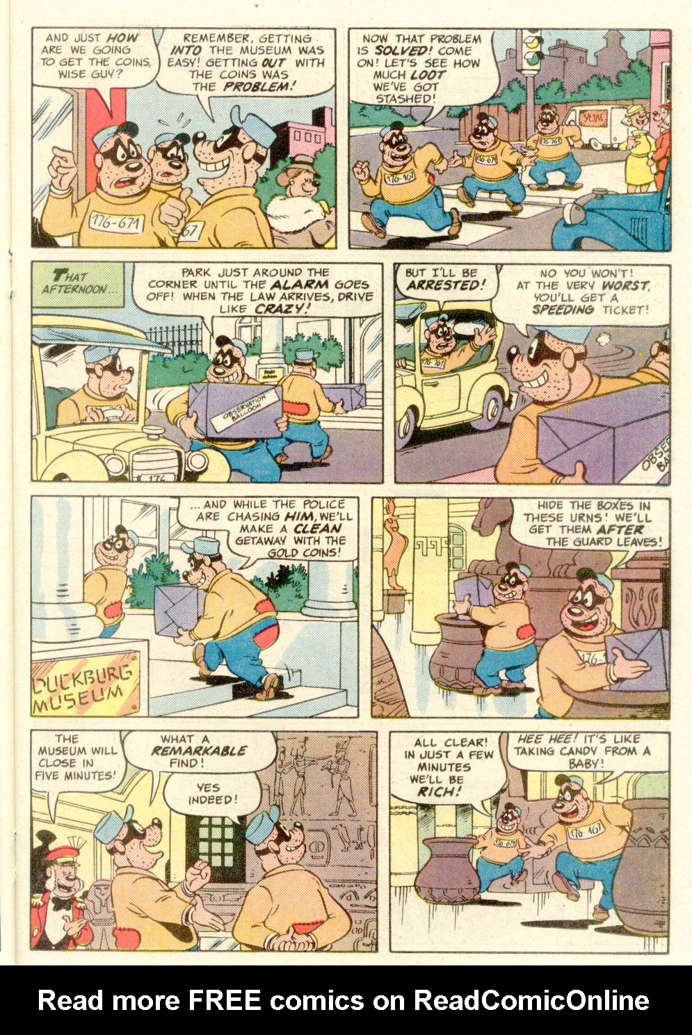Read online Uncle Scrooge (1953) comic -  Issue #210 - 23