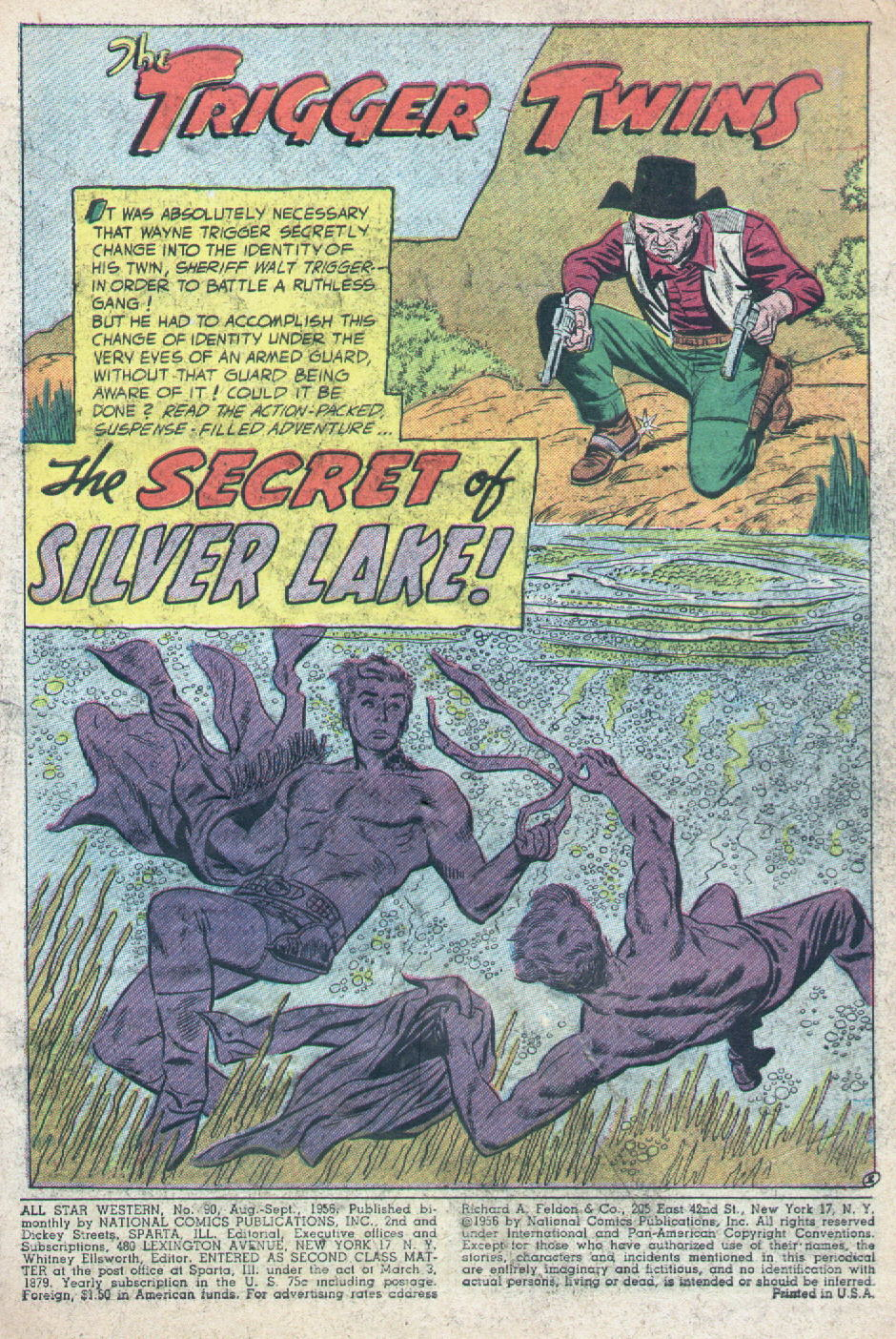 Read online All-Star Western (1951) comic -  Issue #90 - 3
