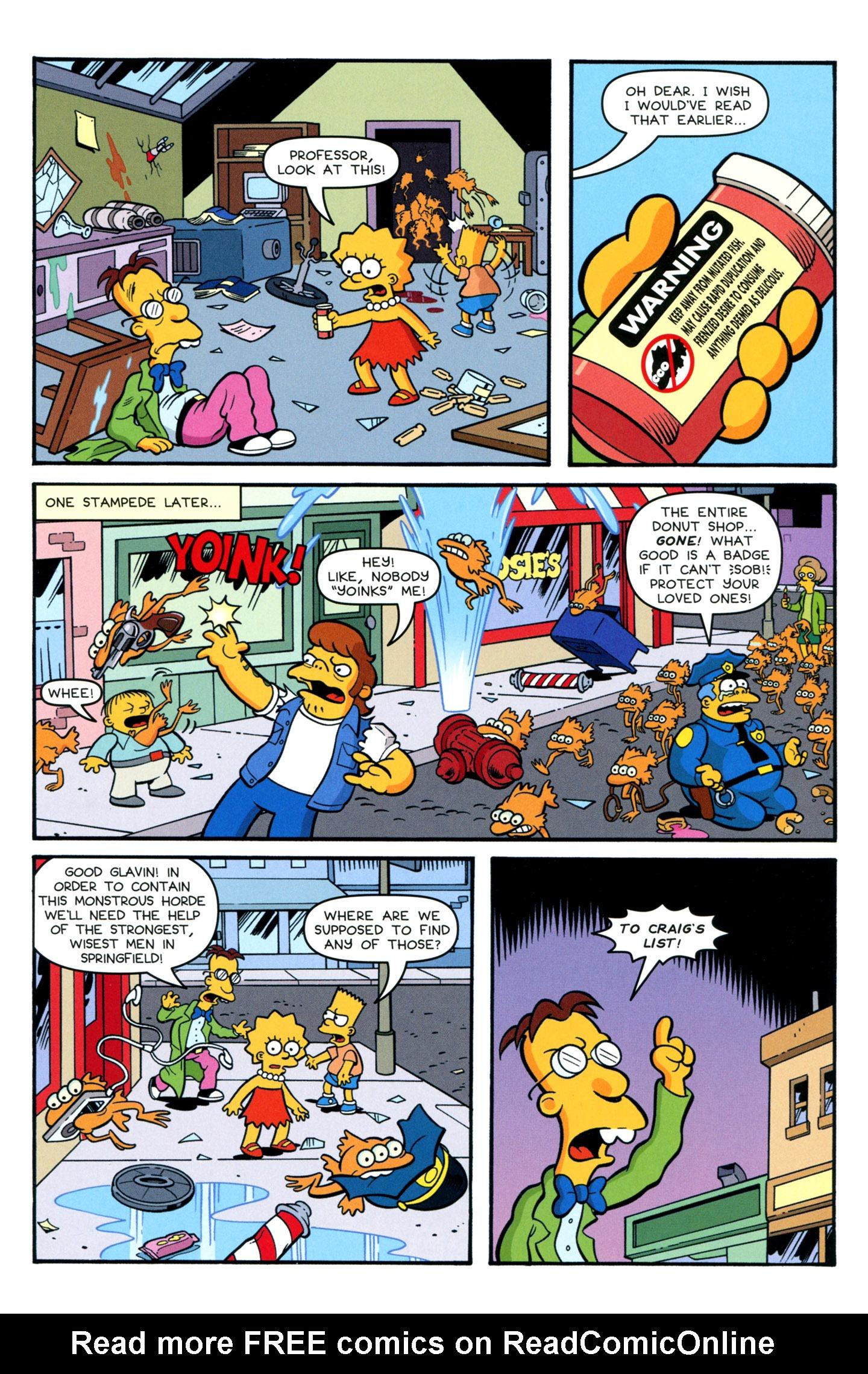 Read online Simpsons One-Shot Wonders: Professor Frink comic -  Issue # Full - 17