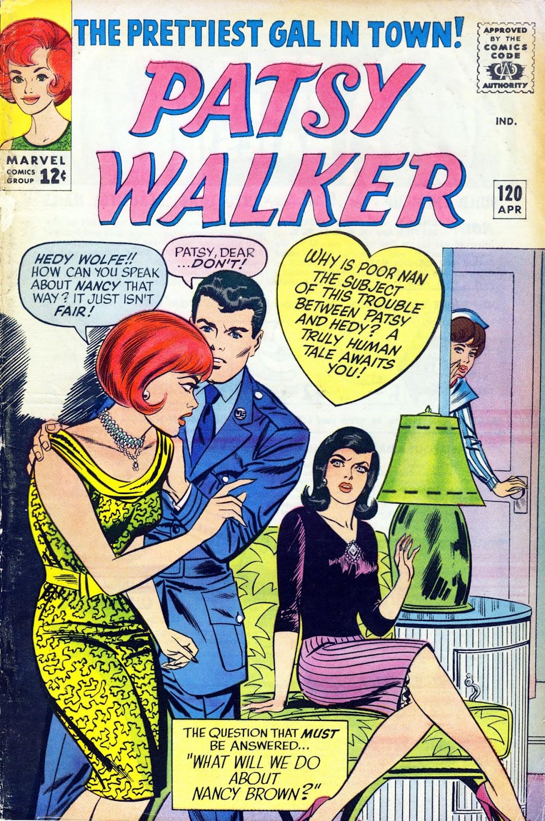 Patsy Walker 120 Page 1