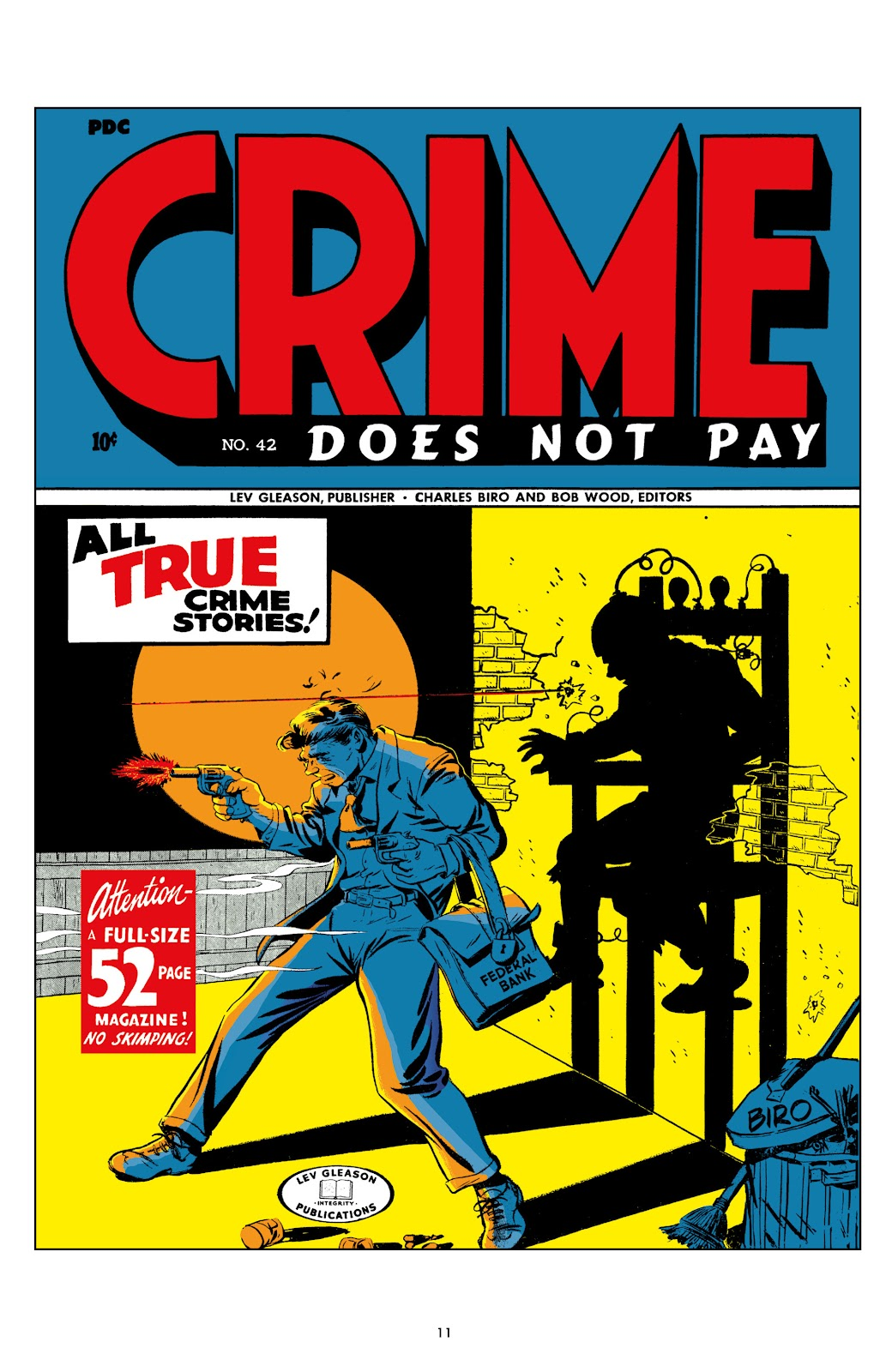 Read online Crime Does Not Pay Archives comic -  Issue # TPB 6 (Part 1) - 11