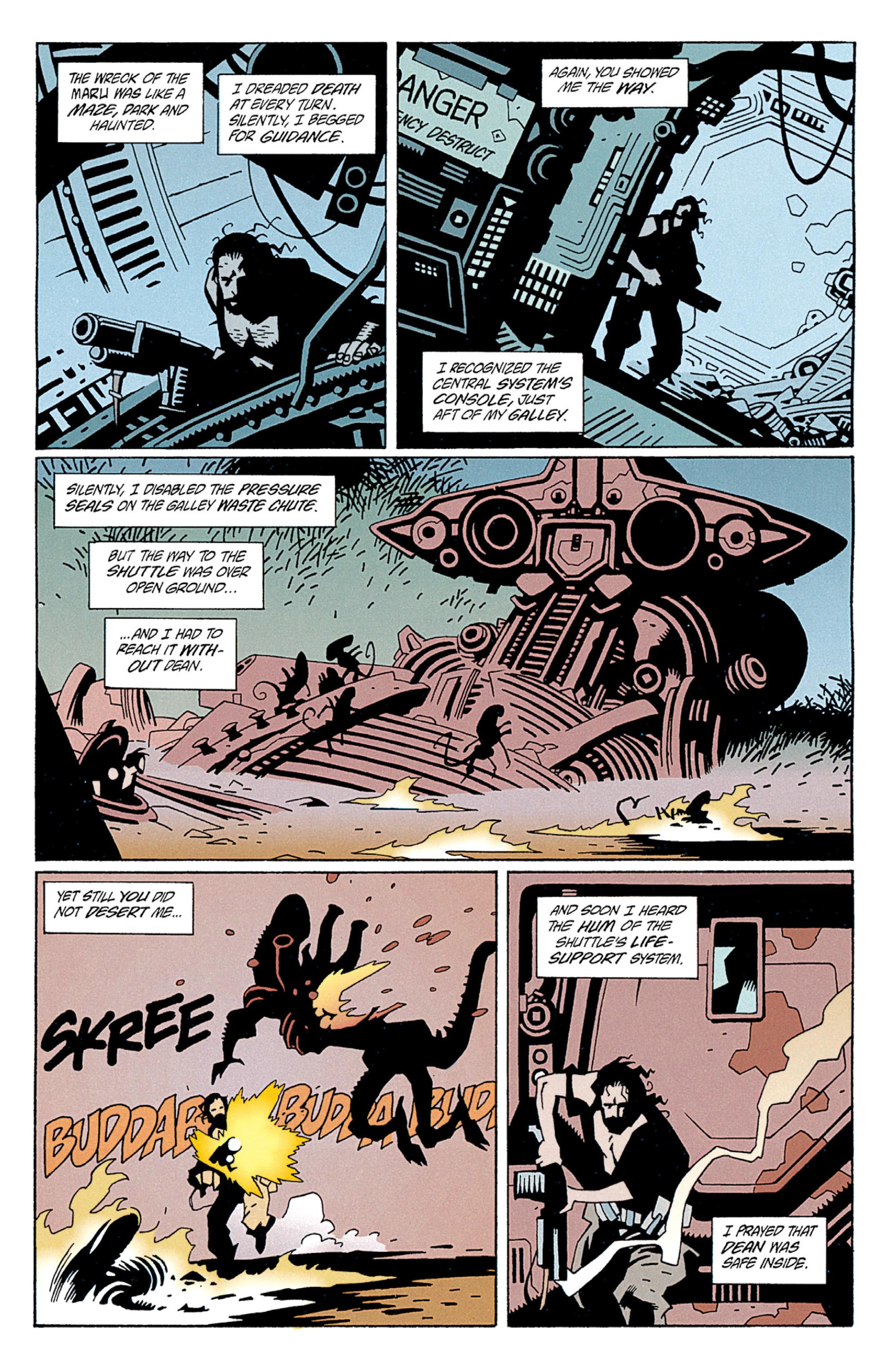 Read online Aliens: Salvation comic -  Issue # TPB - 42