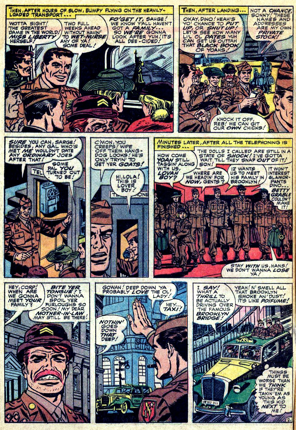 Read online Sgt. Fury comic -  Issue #24 - 4