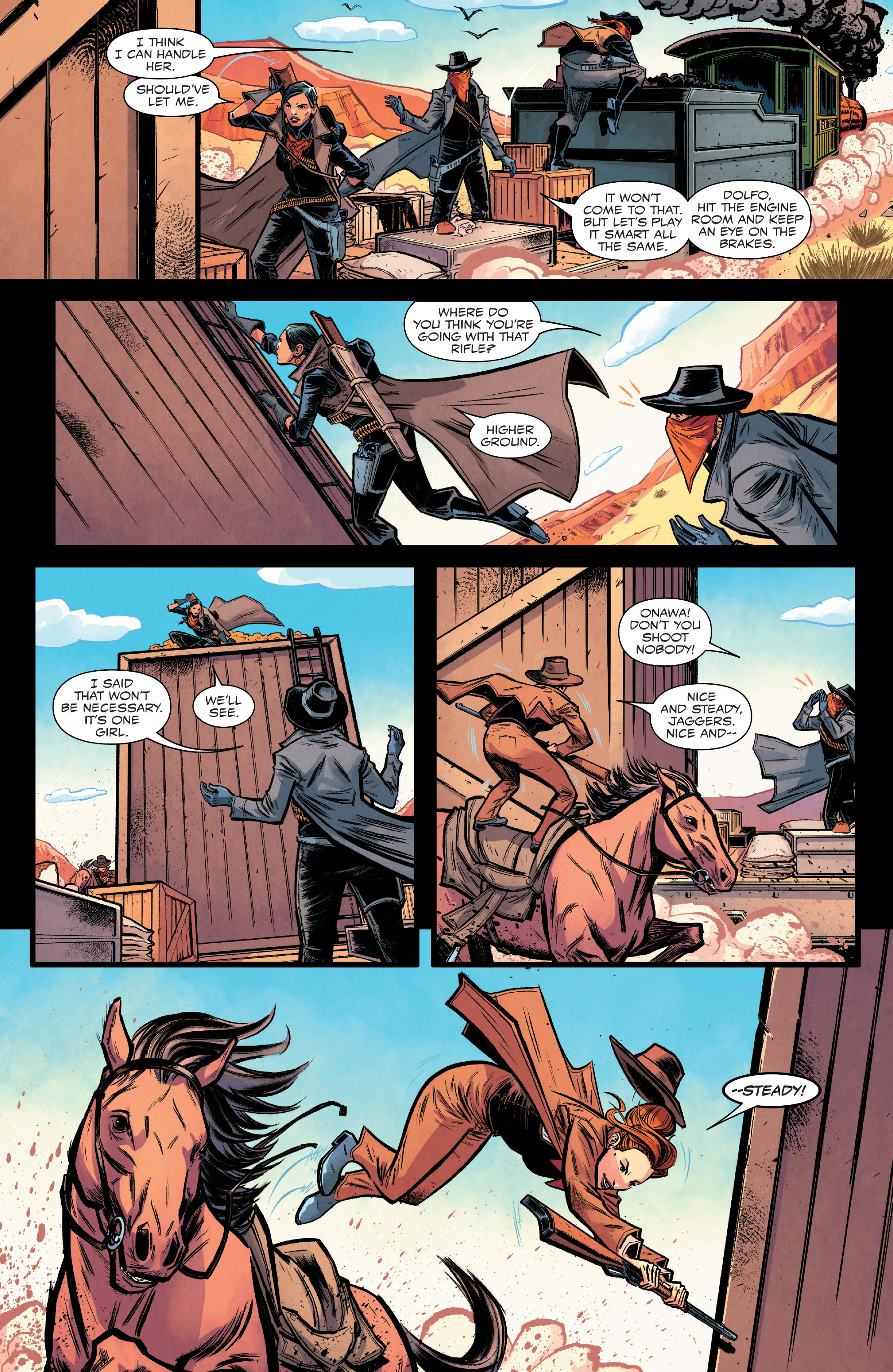Read online Big Thunder Mountain Railroad comic -  Issue #2 - 16