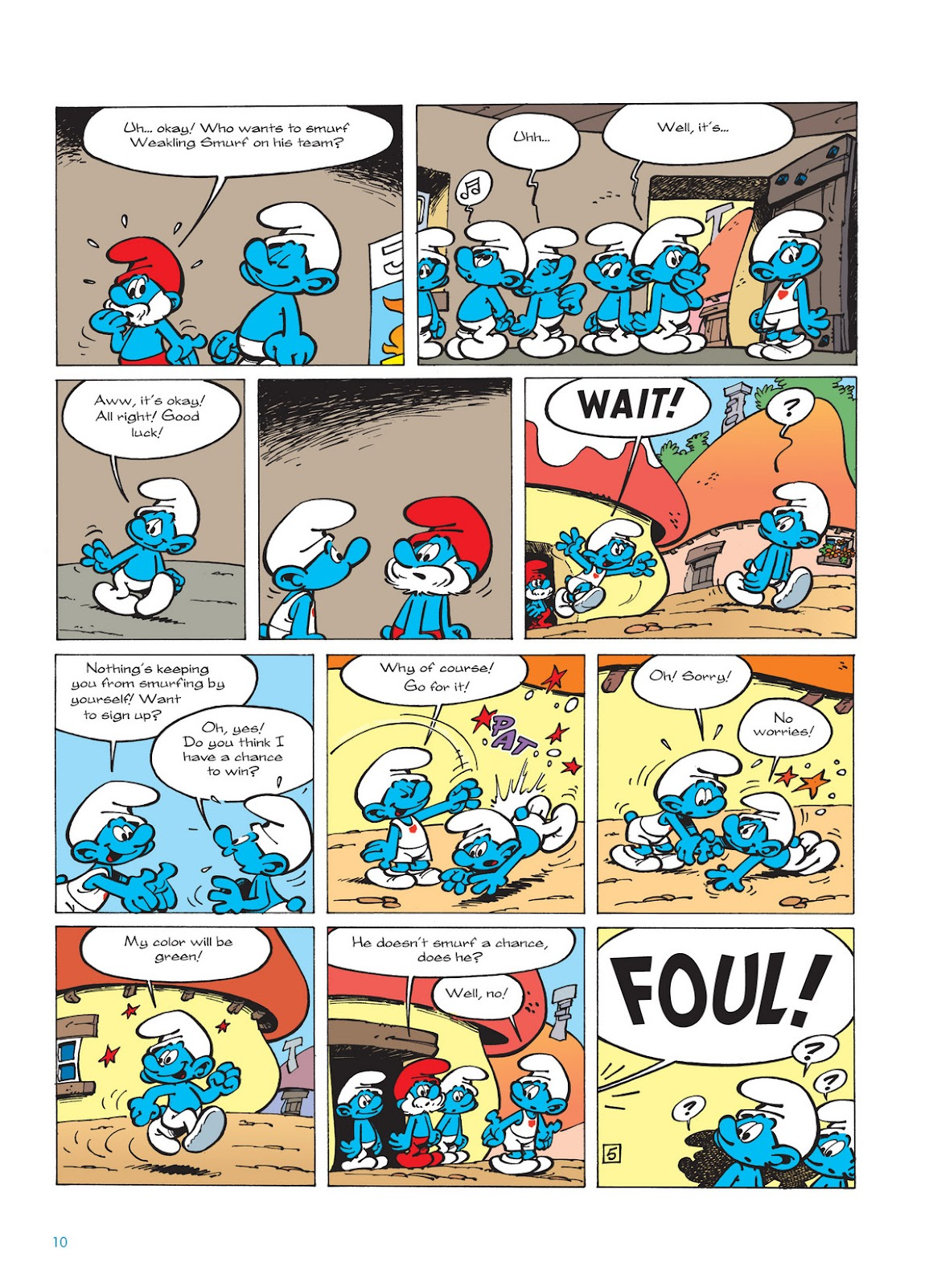 Read online The Smurfs comic -  Issue #11 - 10