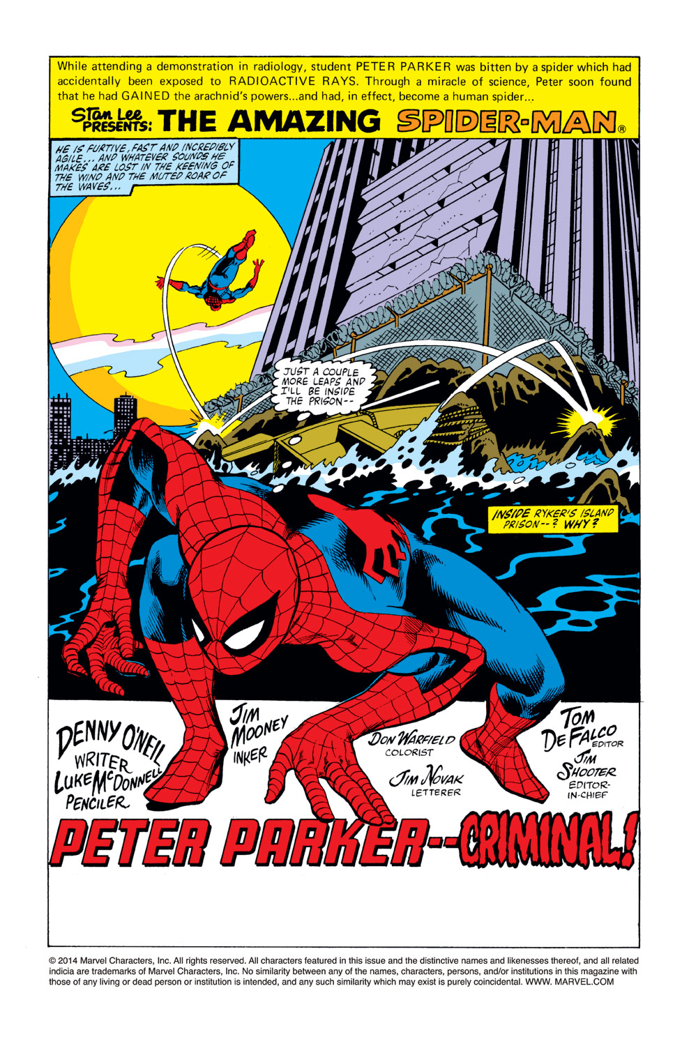 The Amazing Spider-Man (1963) 219 Page 1