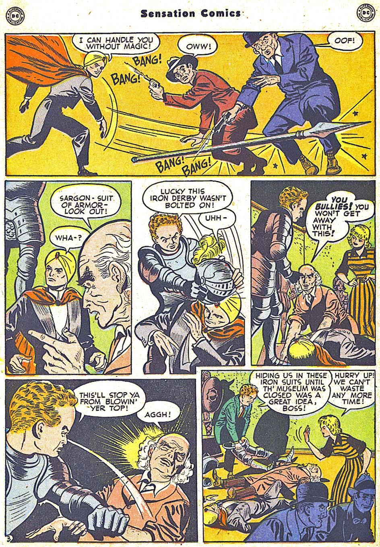 Read online Sensation (Mystery) Comics comic -  Issue #79 - 26