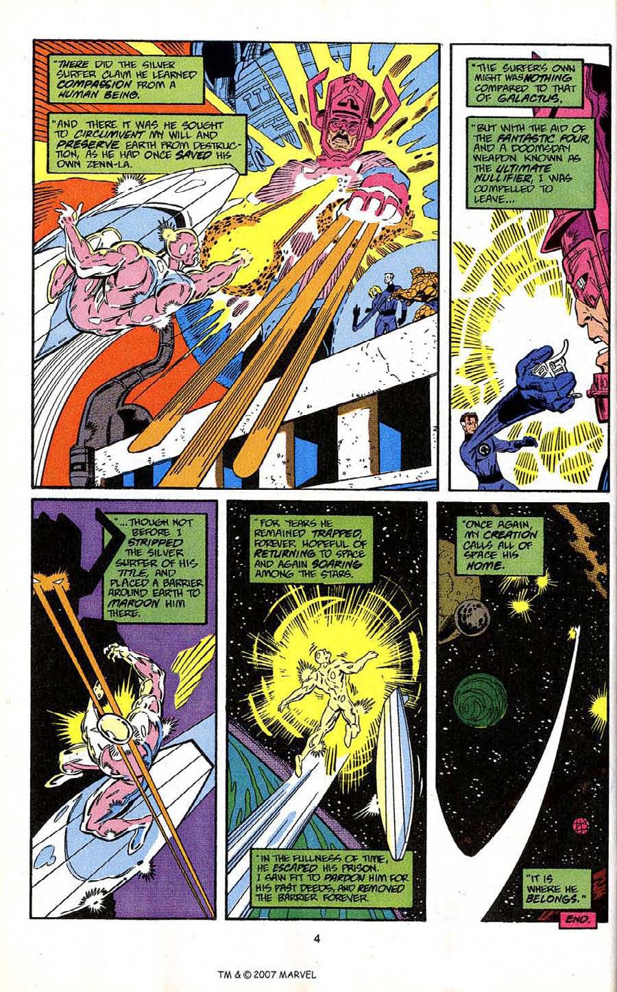 Read online Silver Surfer (1987) comic -  Issue # _Annual 4 - 6