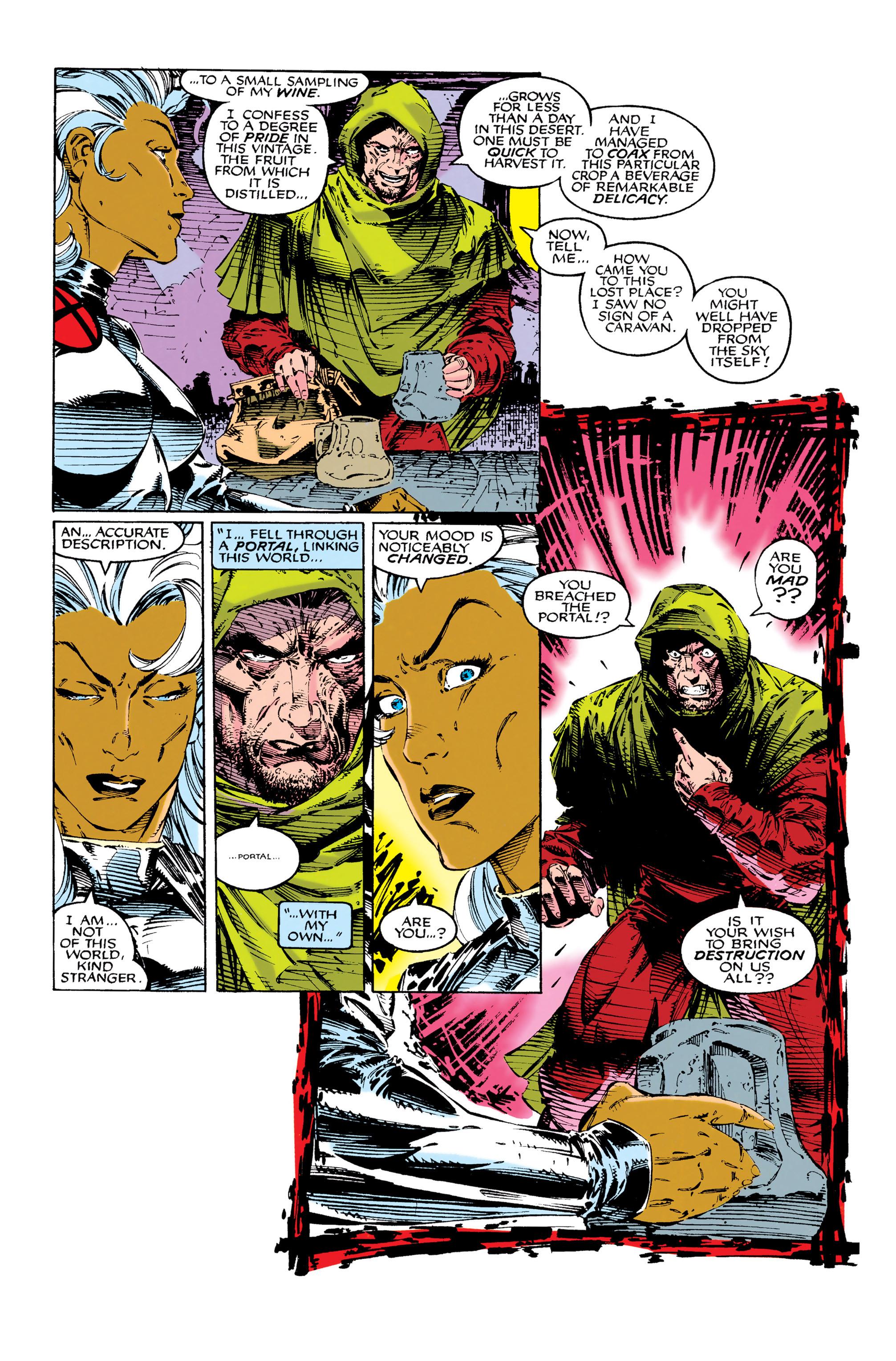 Read online Uncanny X-Men (1963) comic -  Issue #285 - 8