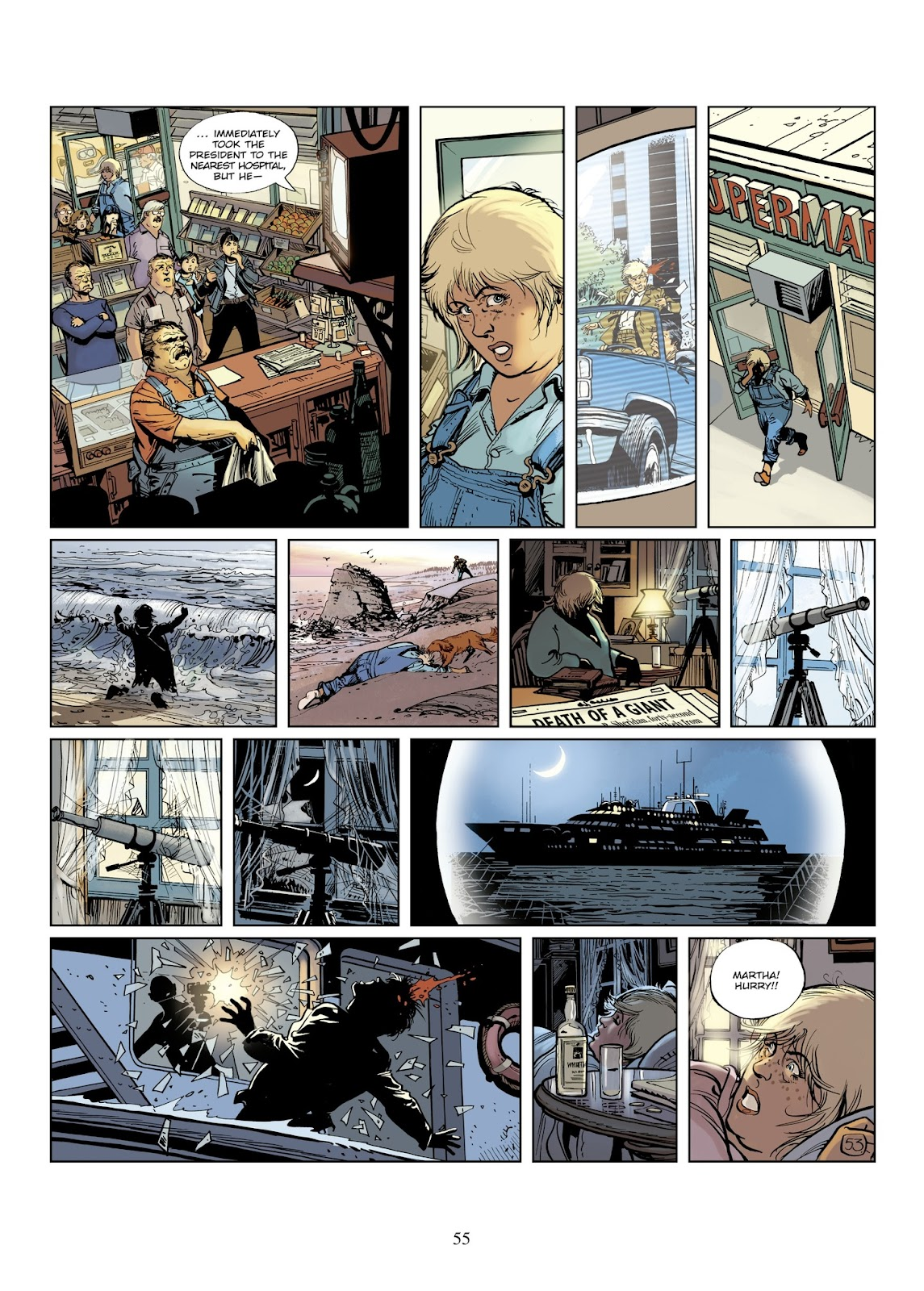 XIII Mystery issue 8 - Page 57