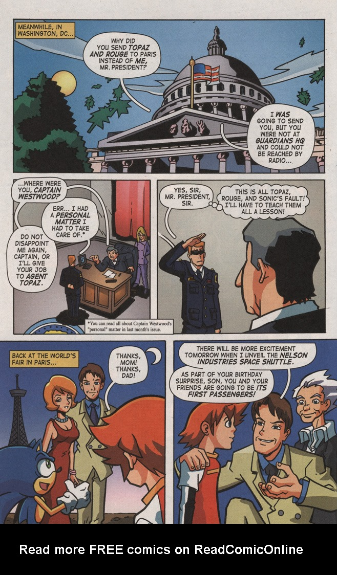 Read online Sonic X comic -  Issue #8 - 6