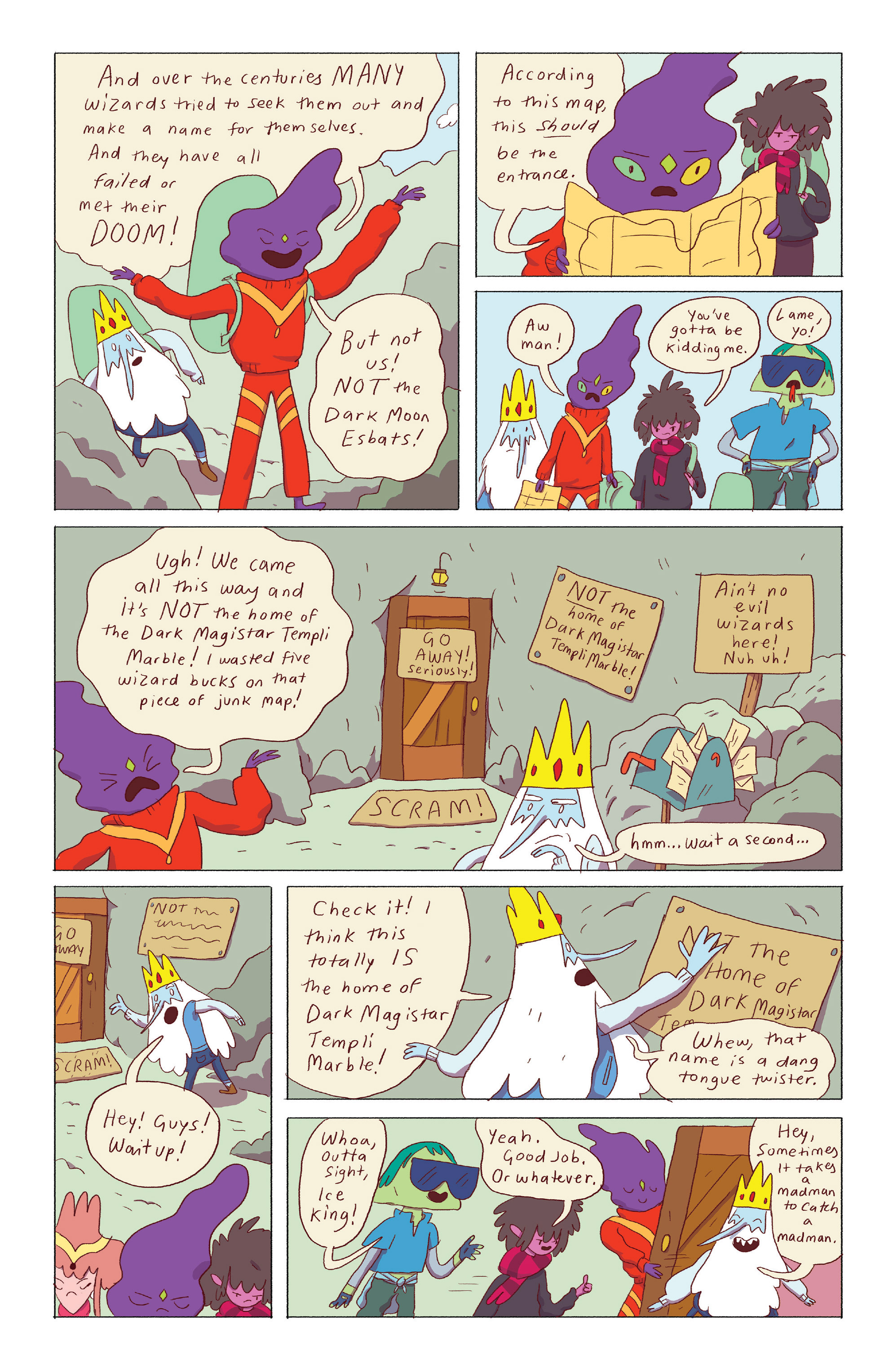 Read online Adventure Time: Ice King comic -  Issue #4 - 23