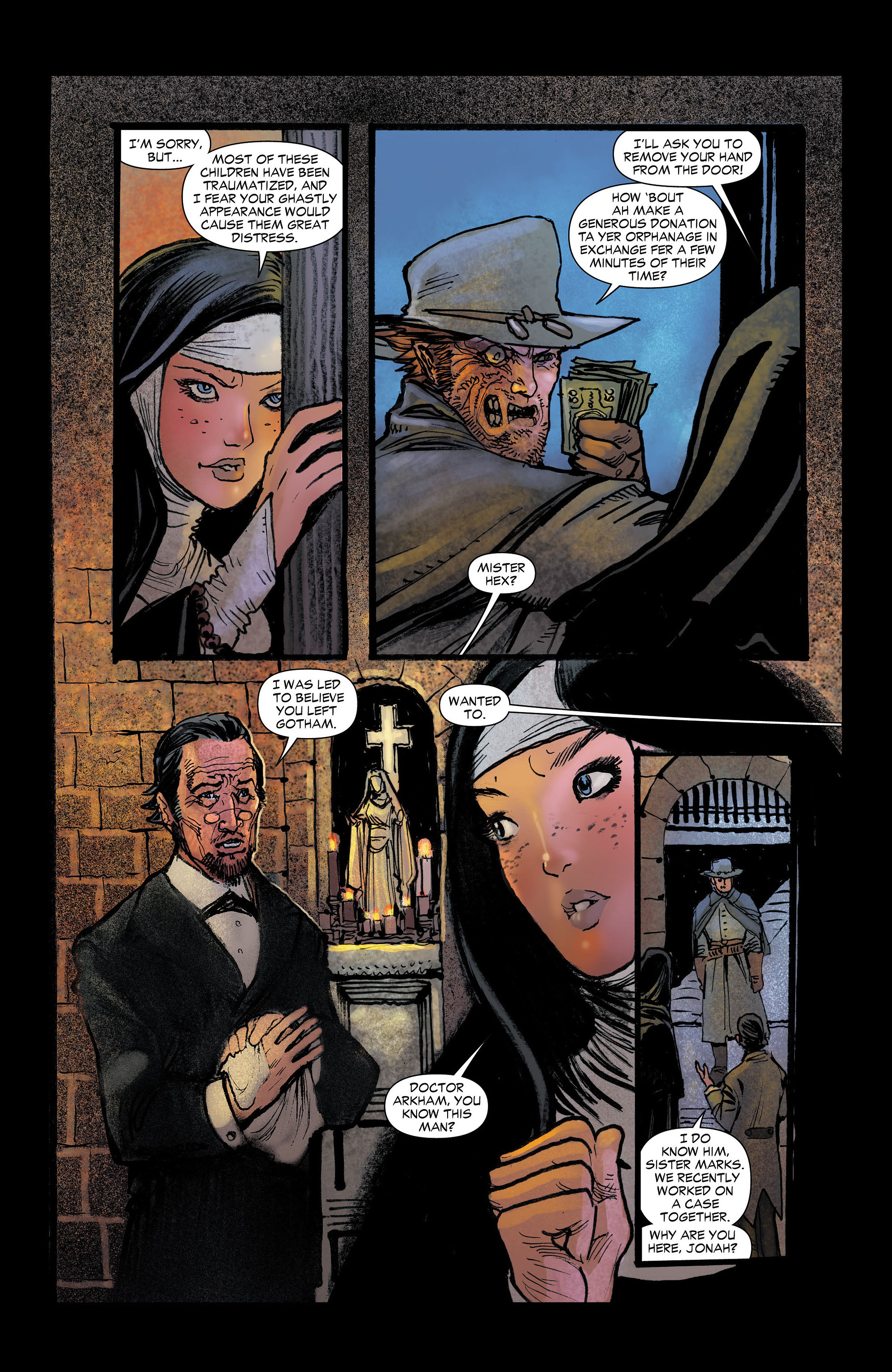 Read online All-Star Western (2011) comic -  Issue #4 - 12