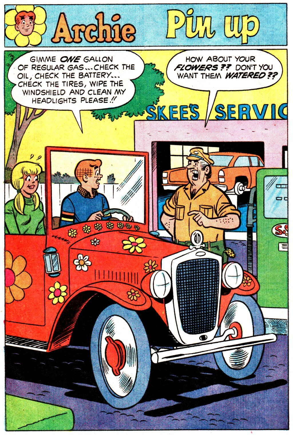 Read online Archie (1960) comic -  Issue #192 - 8