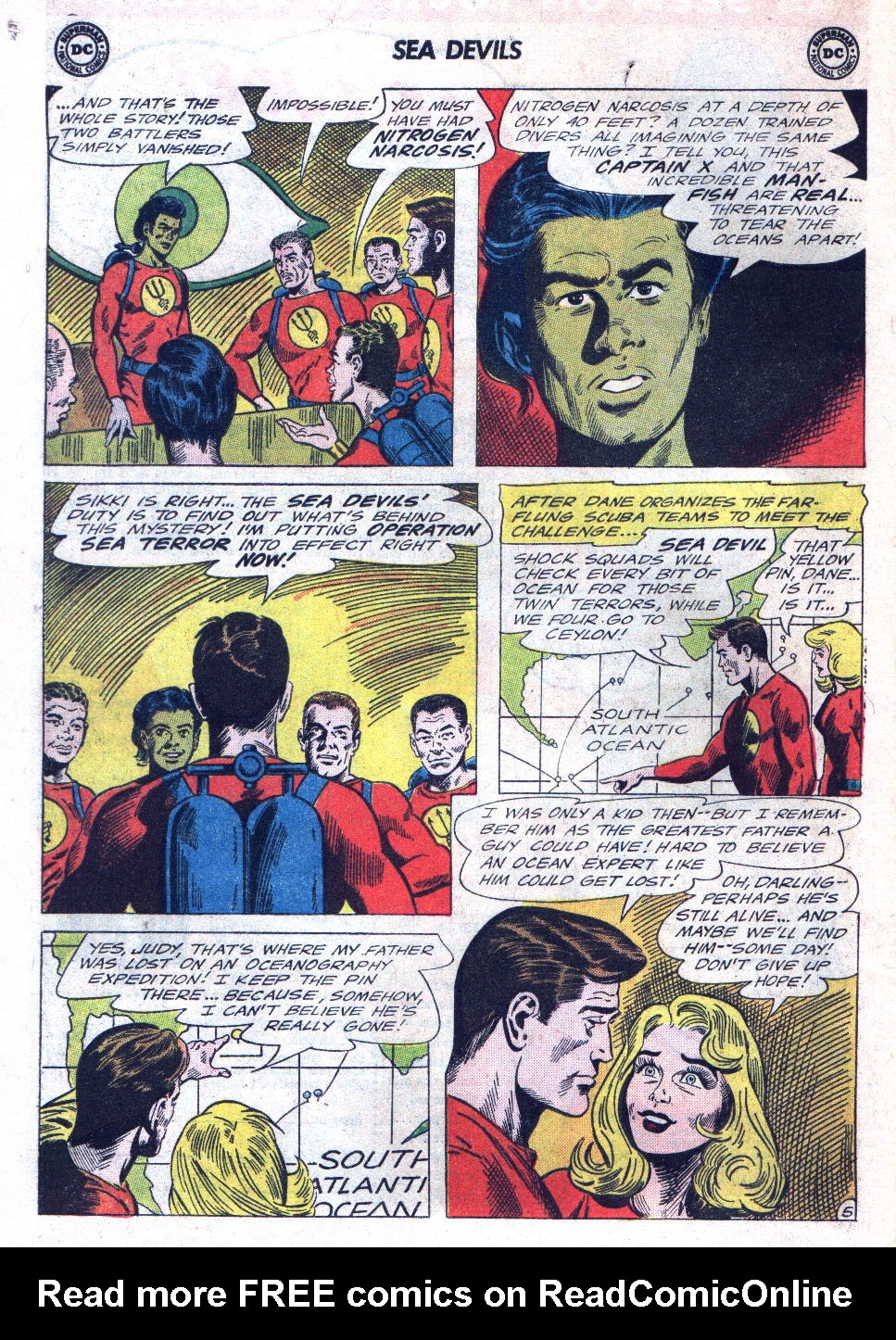 Read online Sea Devils comic -  Issue #22 - 8