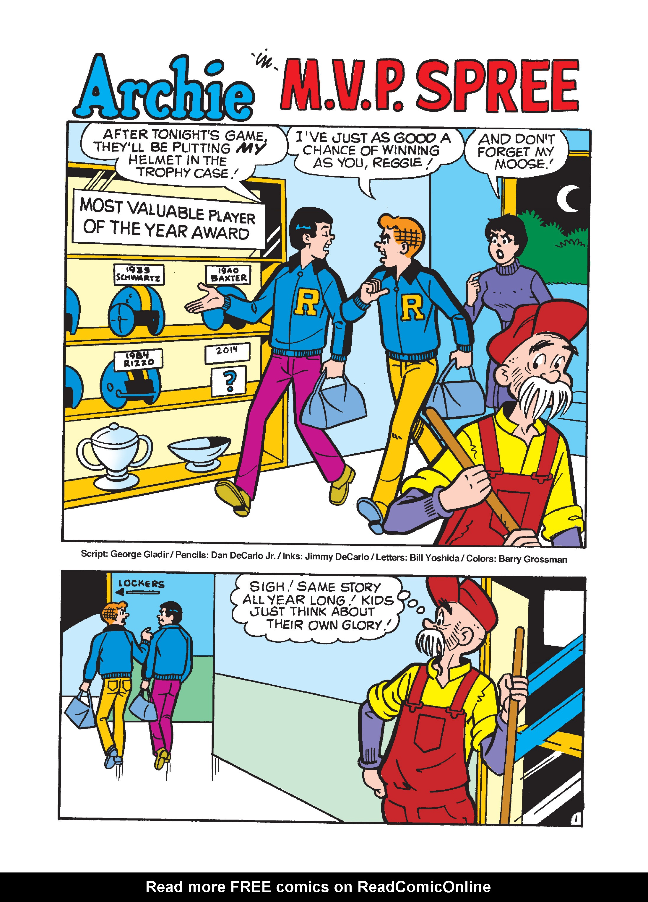 Read online Archie's Funhouse Double Digest comic -  Issue #10 - 116