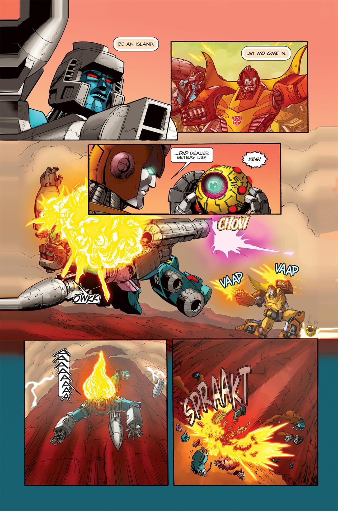 Read online Transformers Spotlight: Doubledealer comic -  Issue # Full - 23