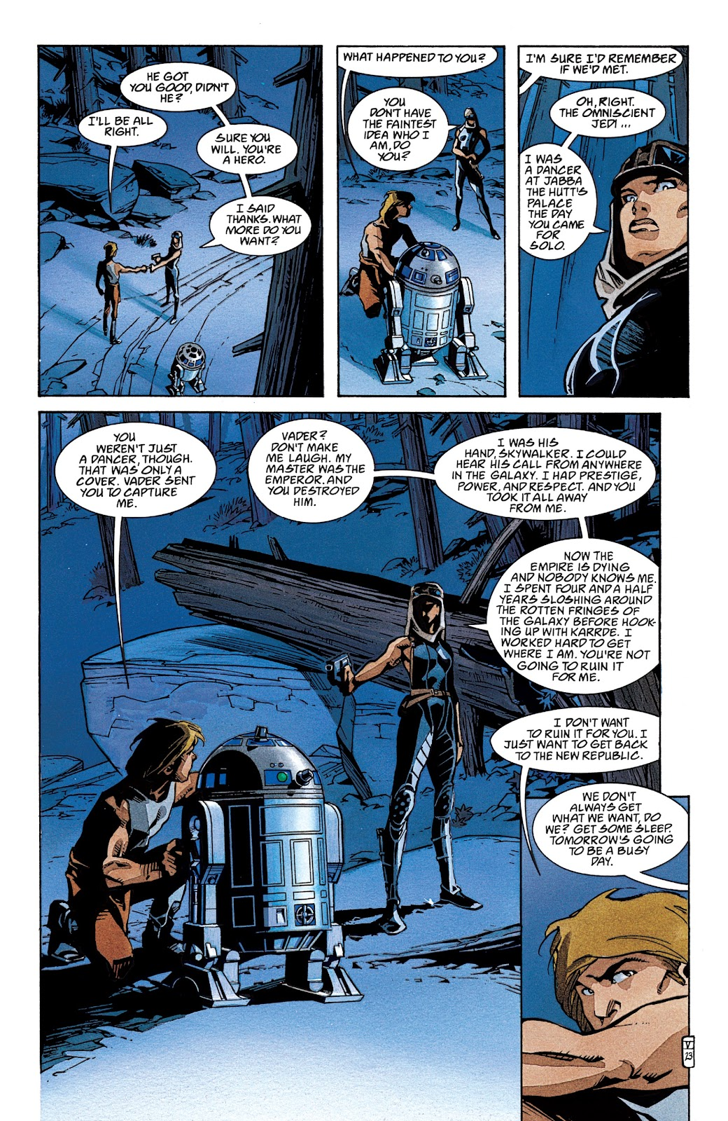 Read online Star Wars Legends: The New Republic - Epic Collection comic -  Issue # TPB 4 (Part 2) - 23