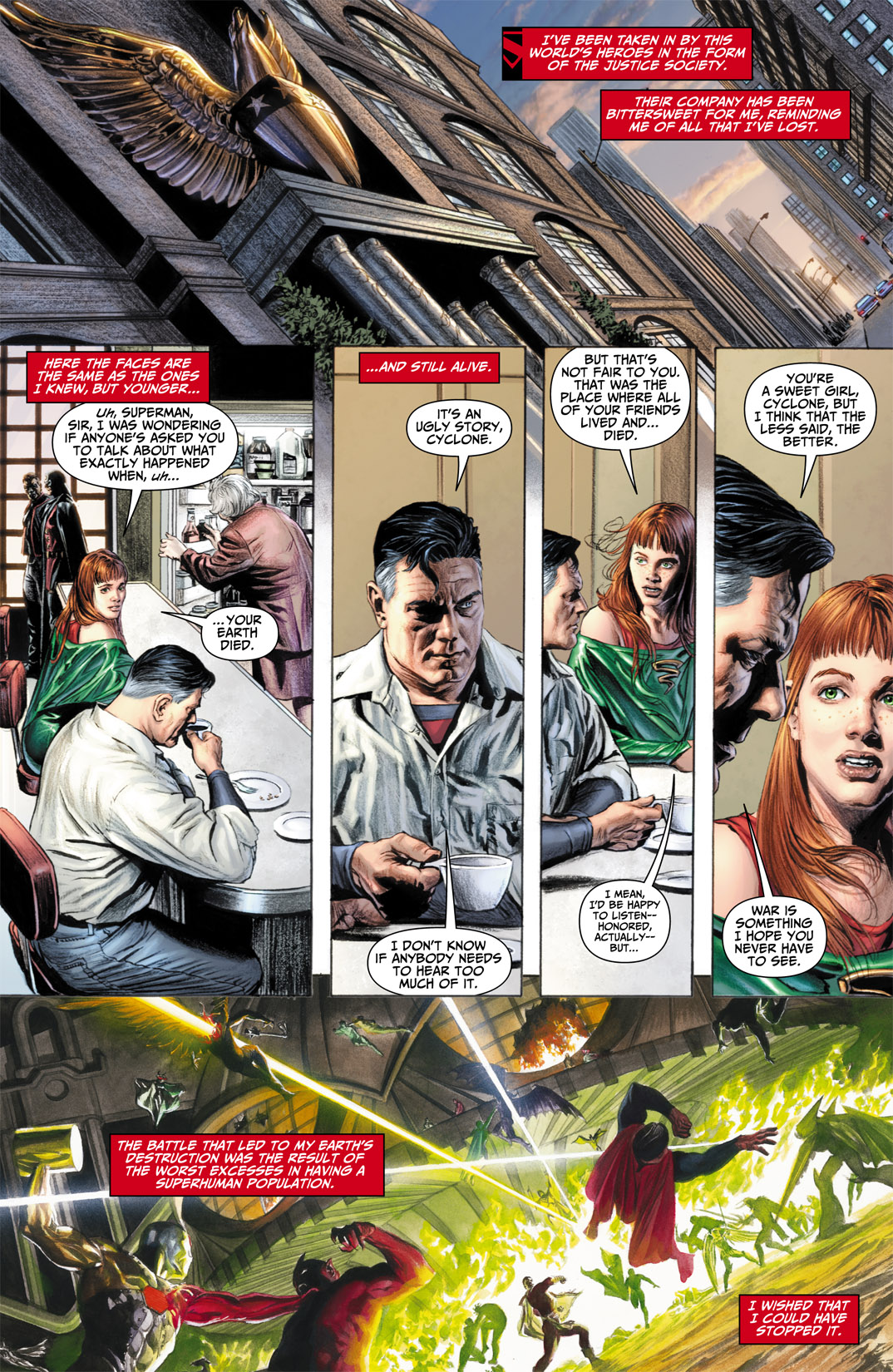 Read online JSA Kingdom Come Special: Superman comic -  Issue # Full - 5