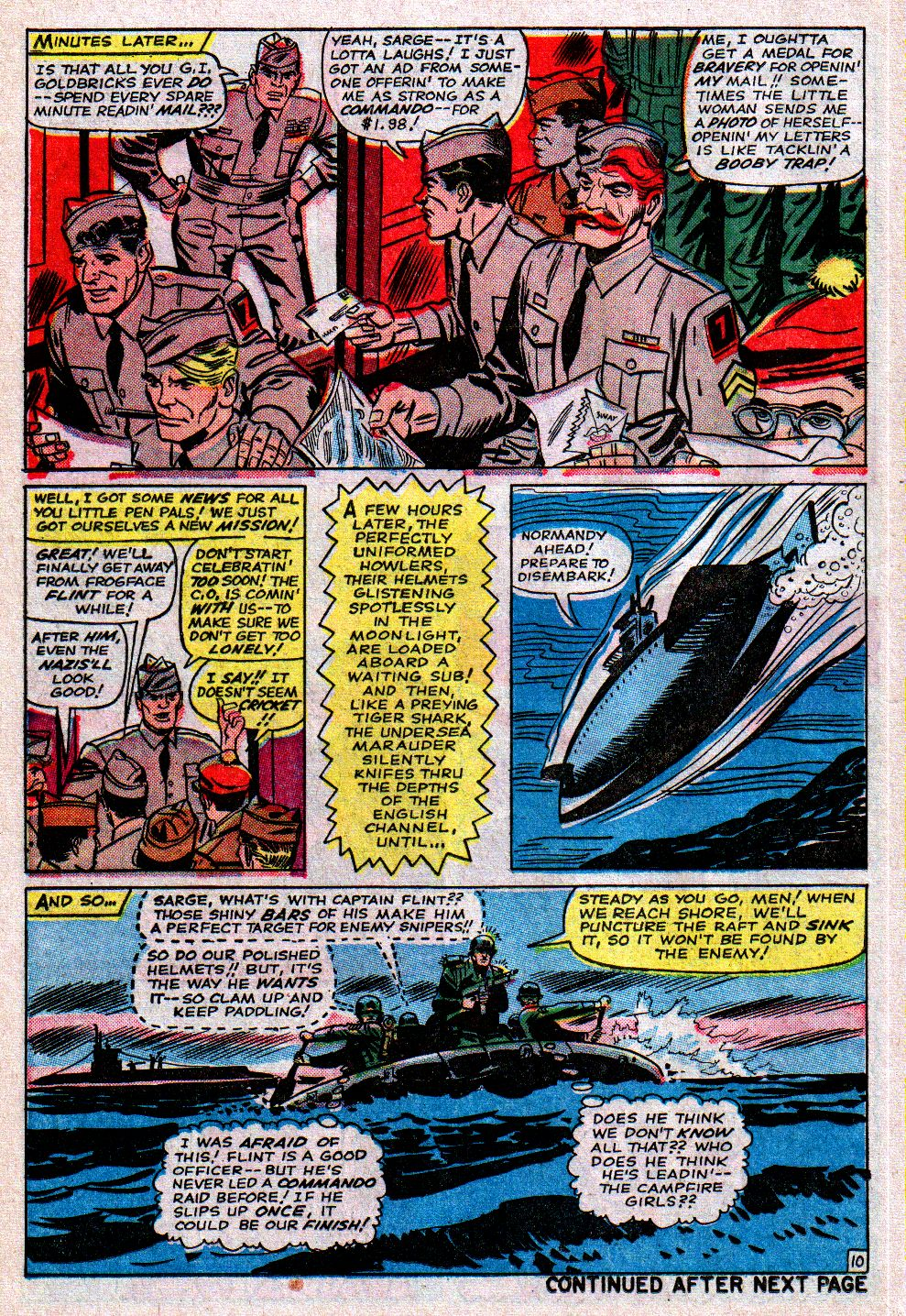 Read online Sgt. Fury comic -  Issue #11 - 14