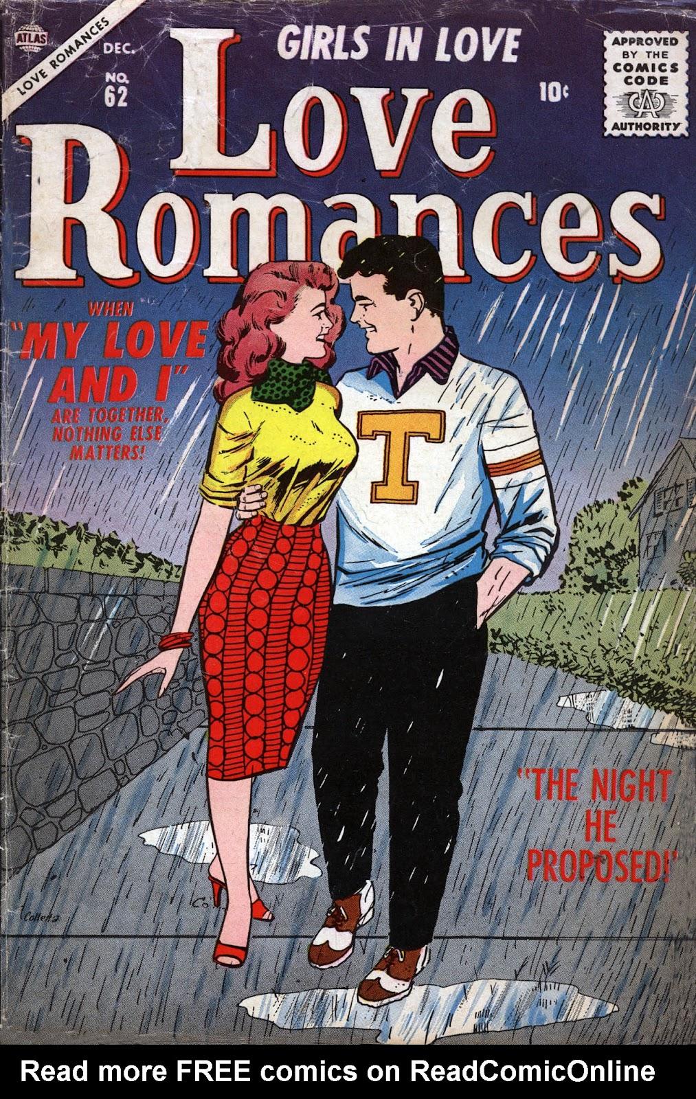 Love Romances (1949) issue 62 - Page 1