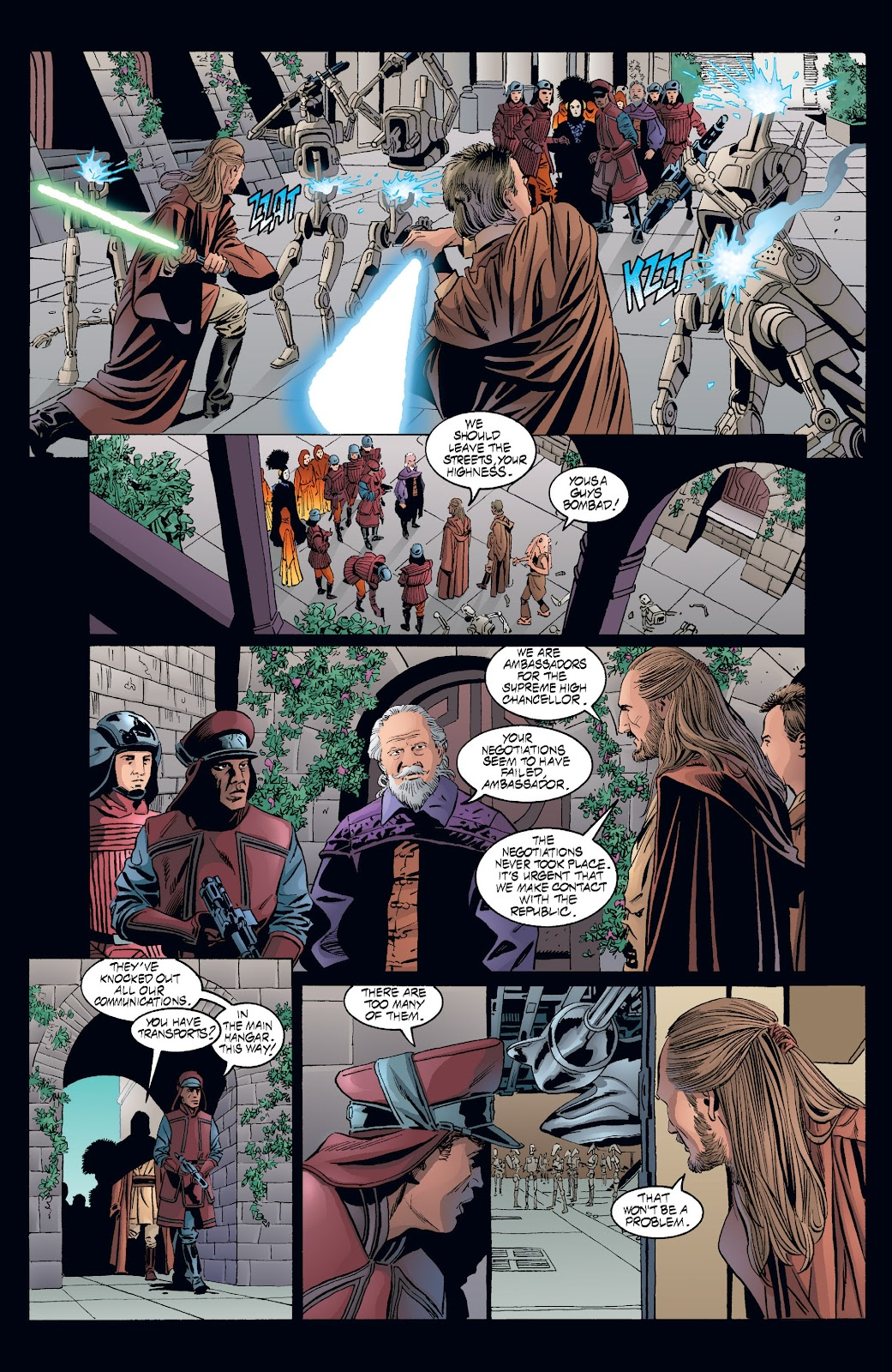 Read online Star Wars Legends: Rise of the Sith - Epic Collection comic -  Issue # TPB 2 (Part 3) - 57