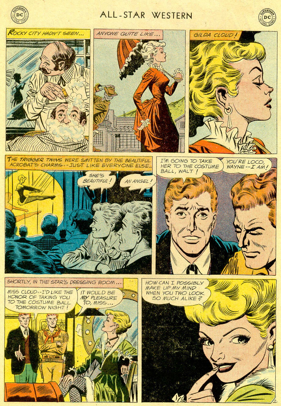 Read online All-Star Western (1951) comic -  Issue #103 - 4