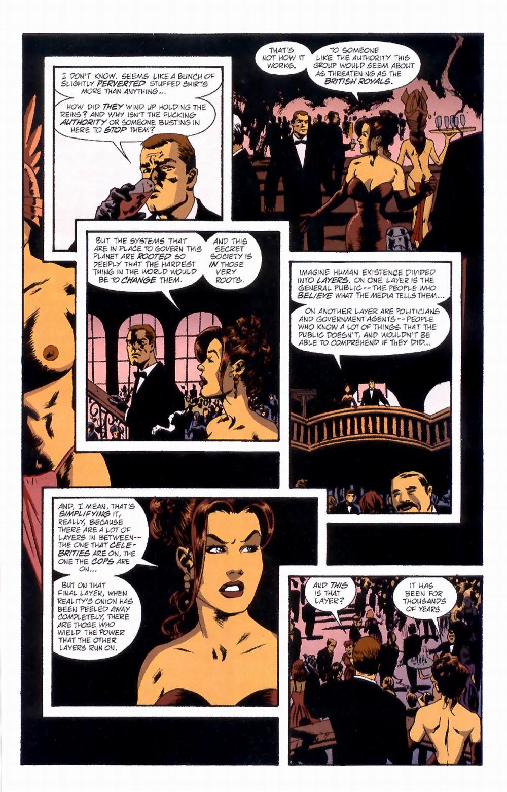Read online Sleeper comic -  Issue #4 - 8
