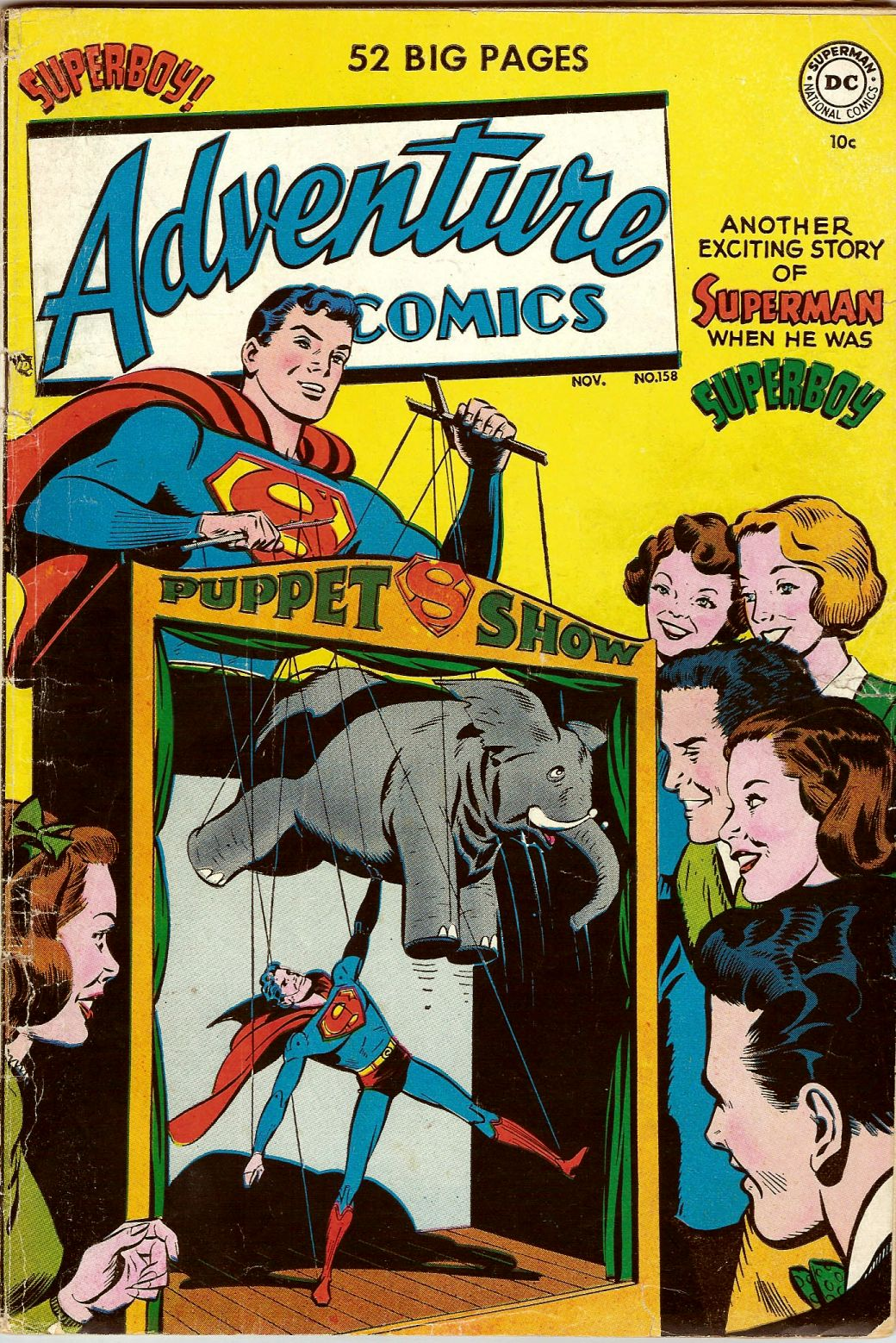 Read online Adventure Comics (1938) comic -  Issue #158 - 1