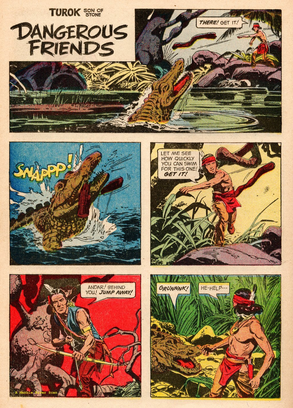 Read online Turok, Son of Stone comic -  Issue #33 - 22