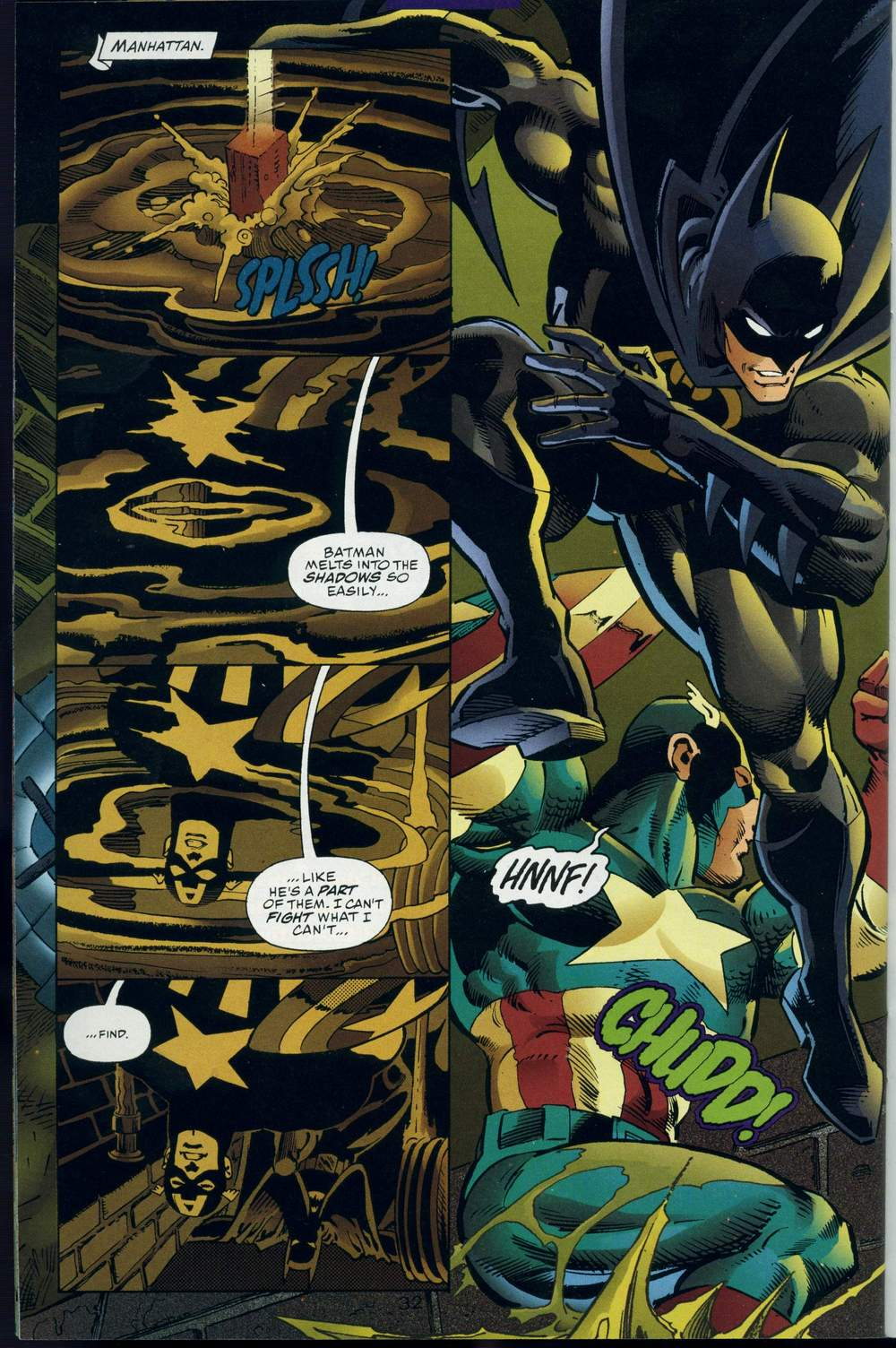 Read online DC Versus Marvel Comics comic -  Issue #3 - 33