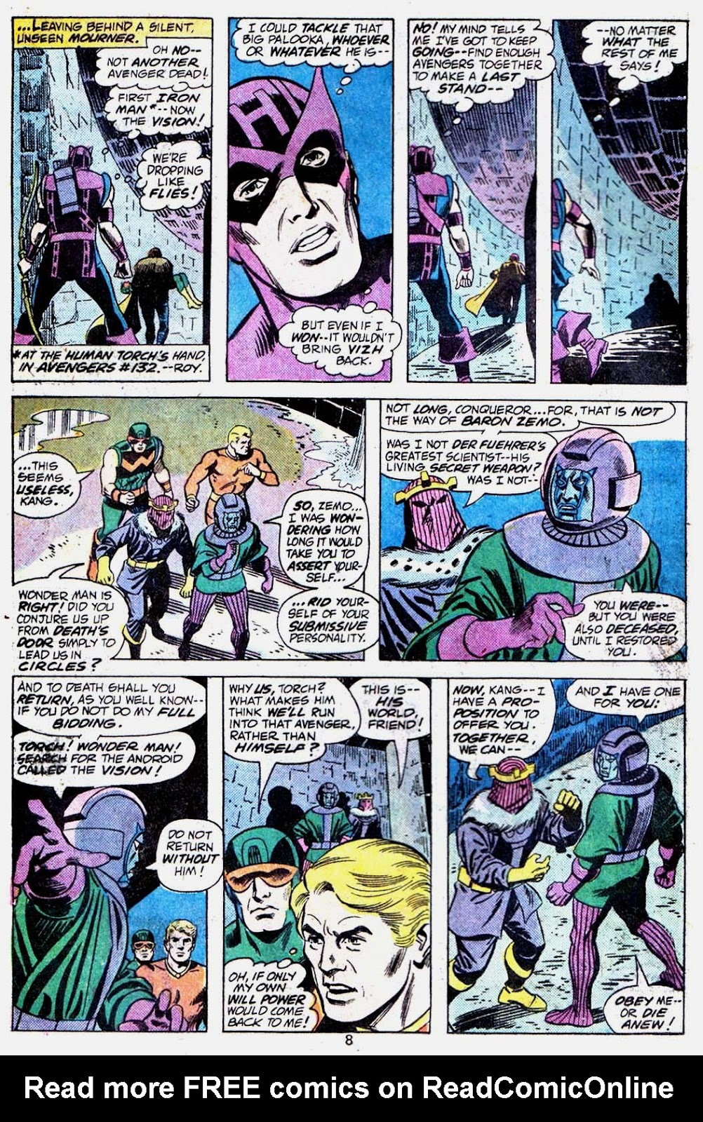 Giant-Size Avengers (1974) issue 3 - Page 10