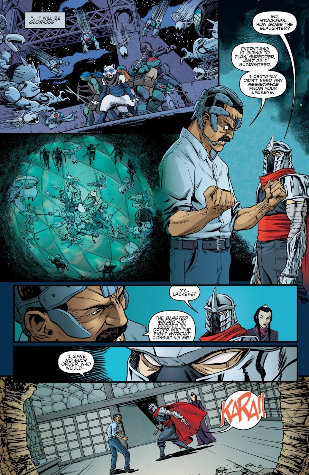 Read online Teenage Mutant Ninja Turtles: The IDW Collection comic -  Issue # TPB 6 (Part 3) - 17