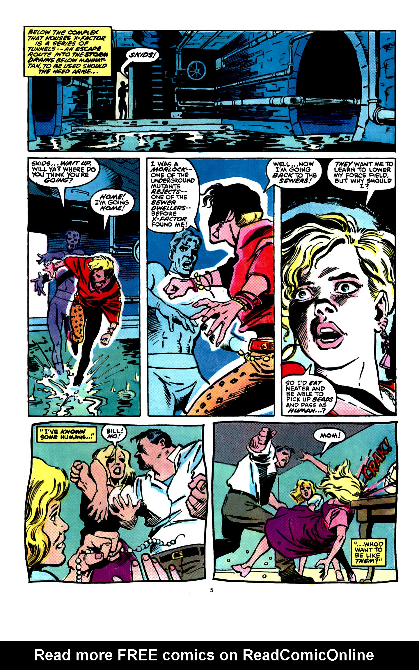 Read online X-Factor (1986) comic -  Issue #16 - 6