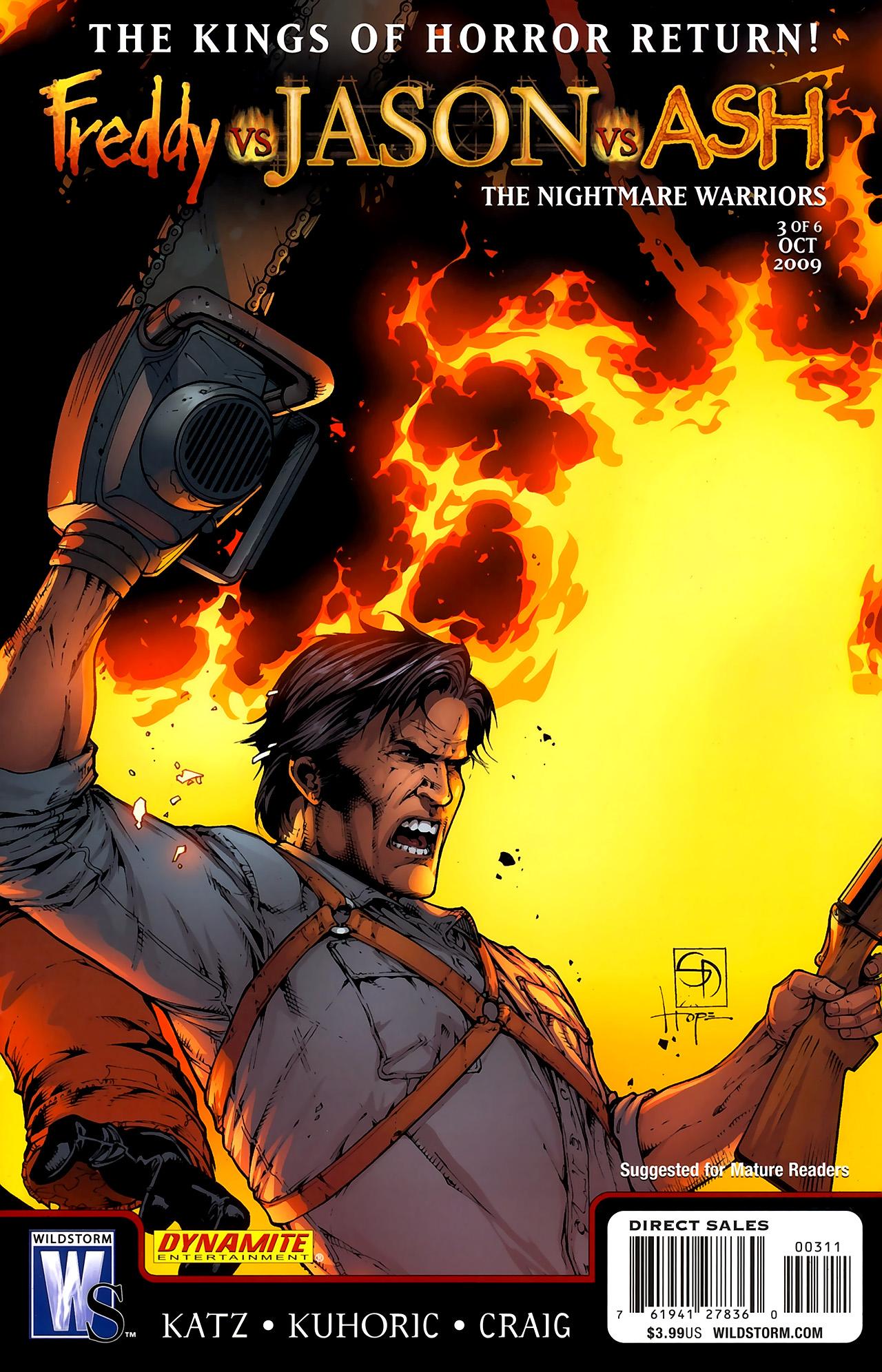 Freddy vs. Jason vs. Ash: The Nightmare Warriors 3 Page 1