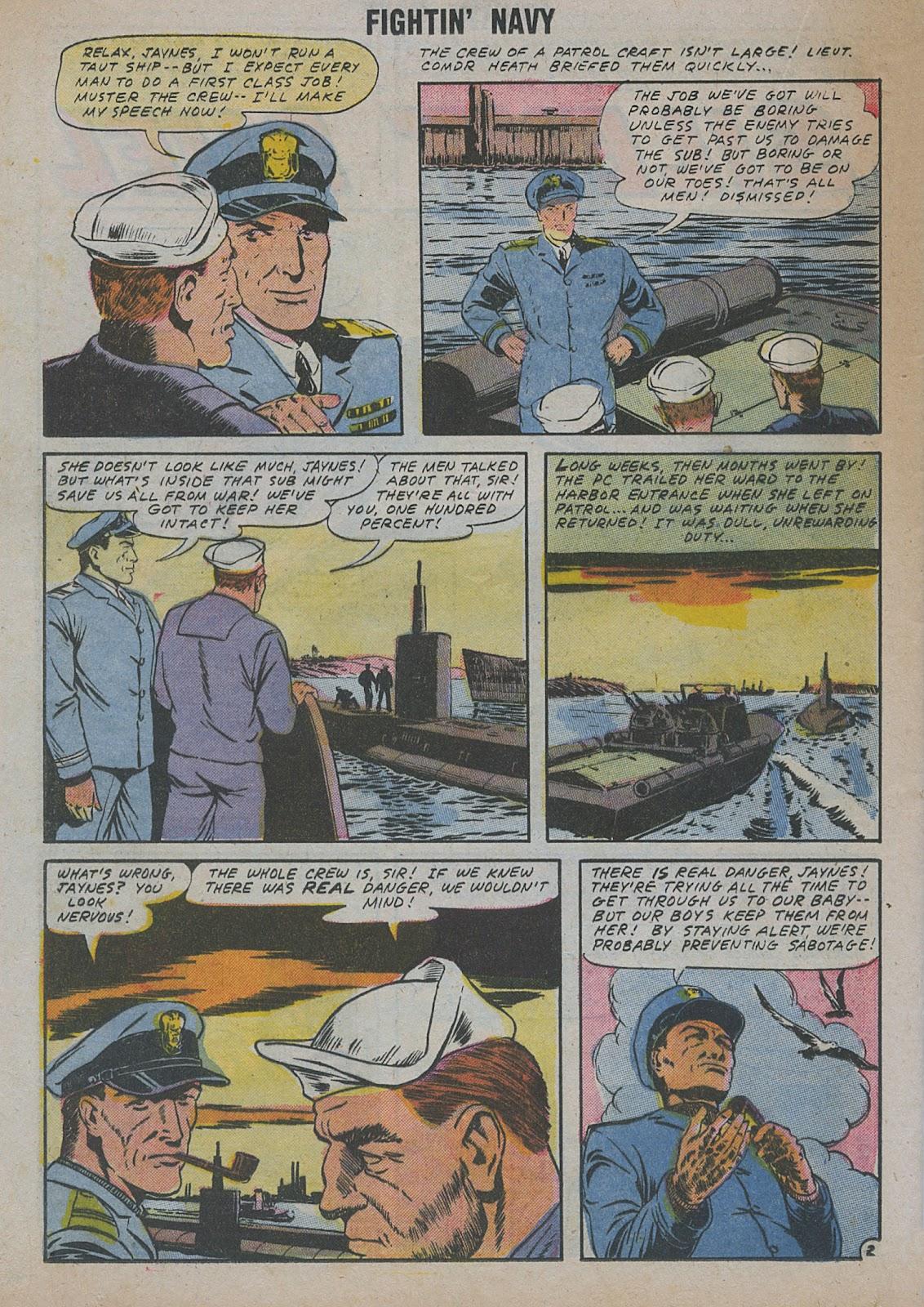 Read online Fightin' Navy comic -  Issue #82 - 44