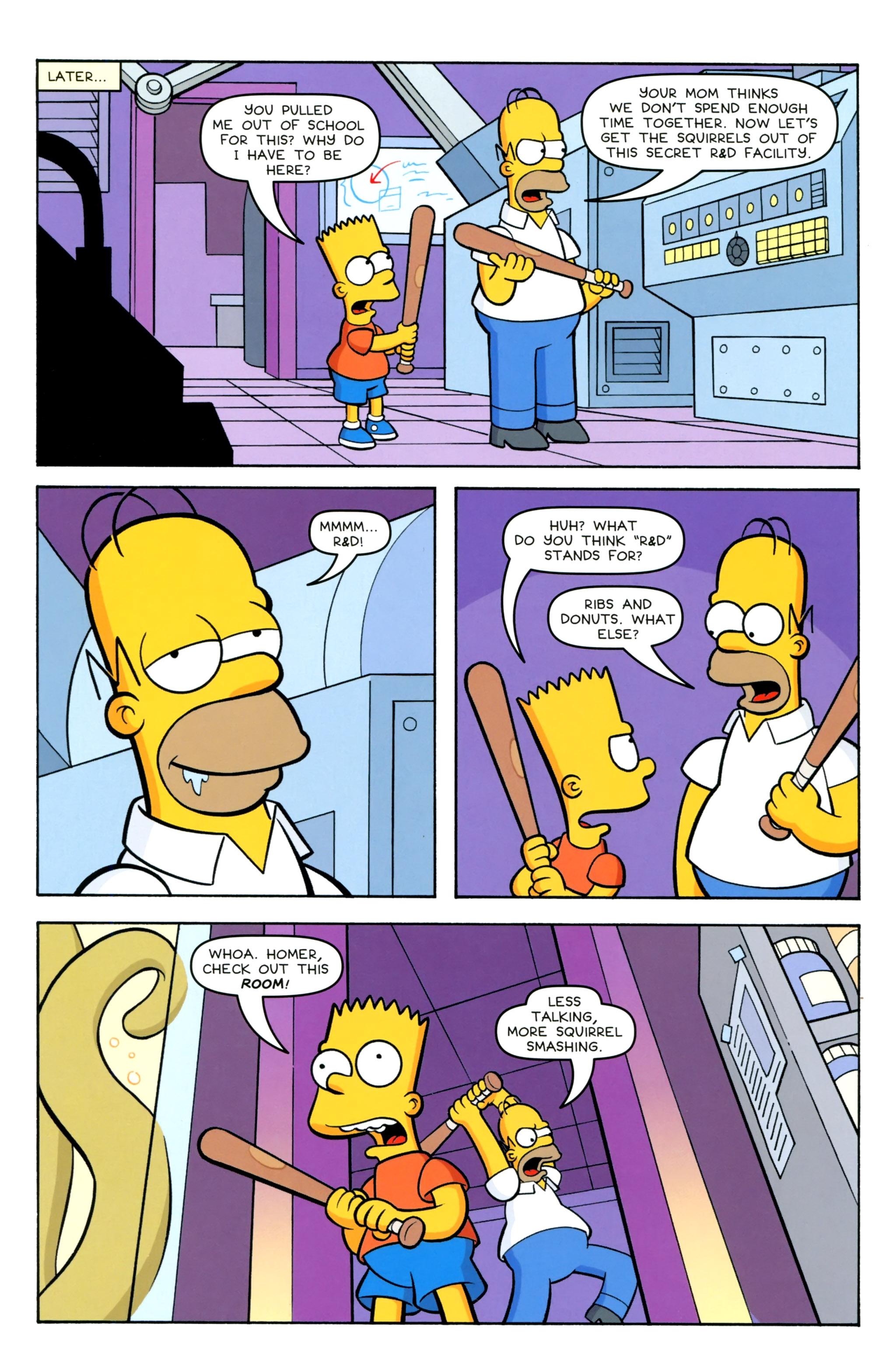 Read online Simpsons Comics Presents Bart Simpson comic -  Issue #100 - 8