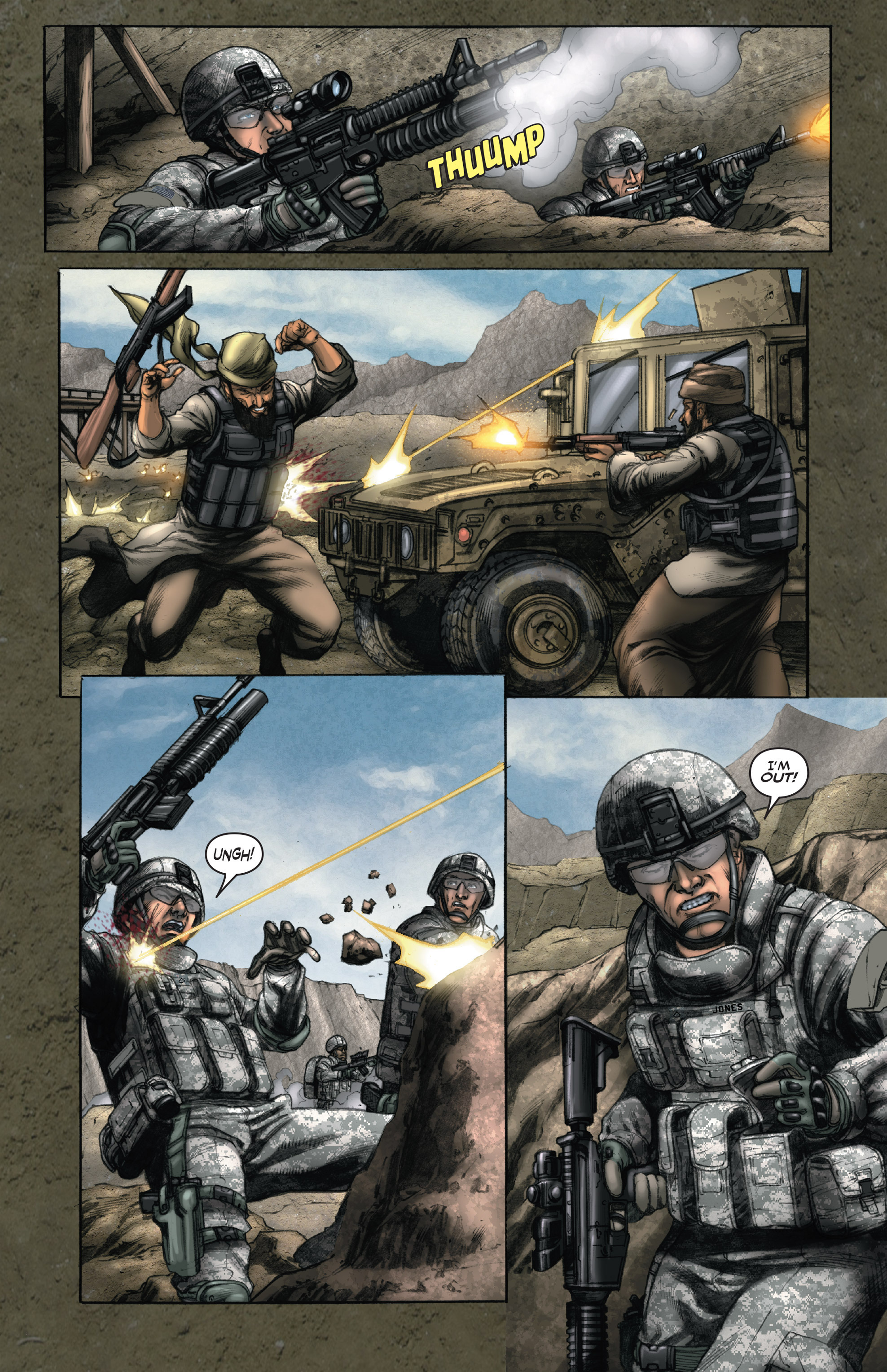 Read online America's Army comic -  Issue #14 - 18