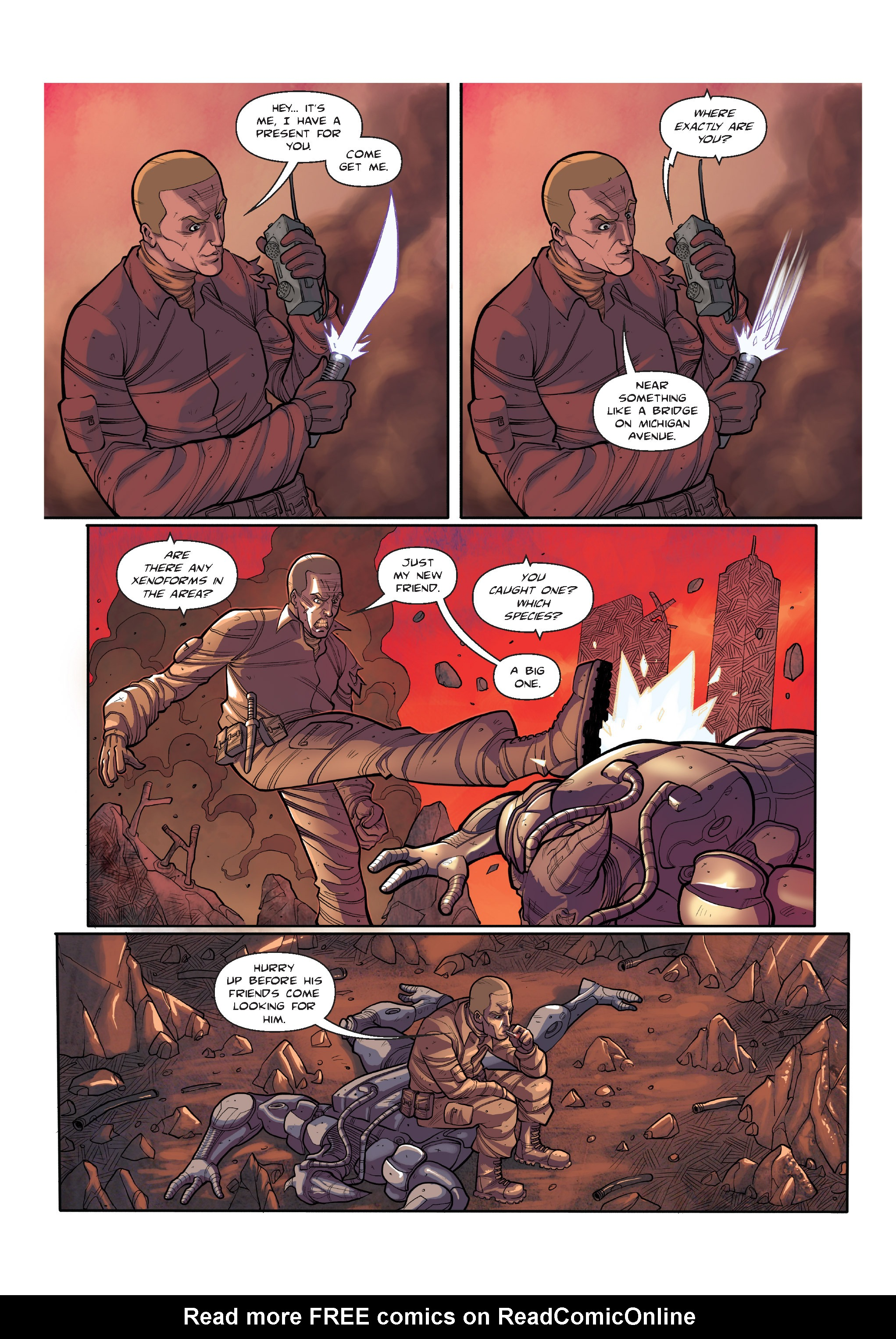 Read online The Shadow of a Terrible Thing comic -  Issue # TPB - 26