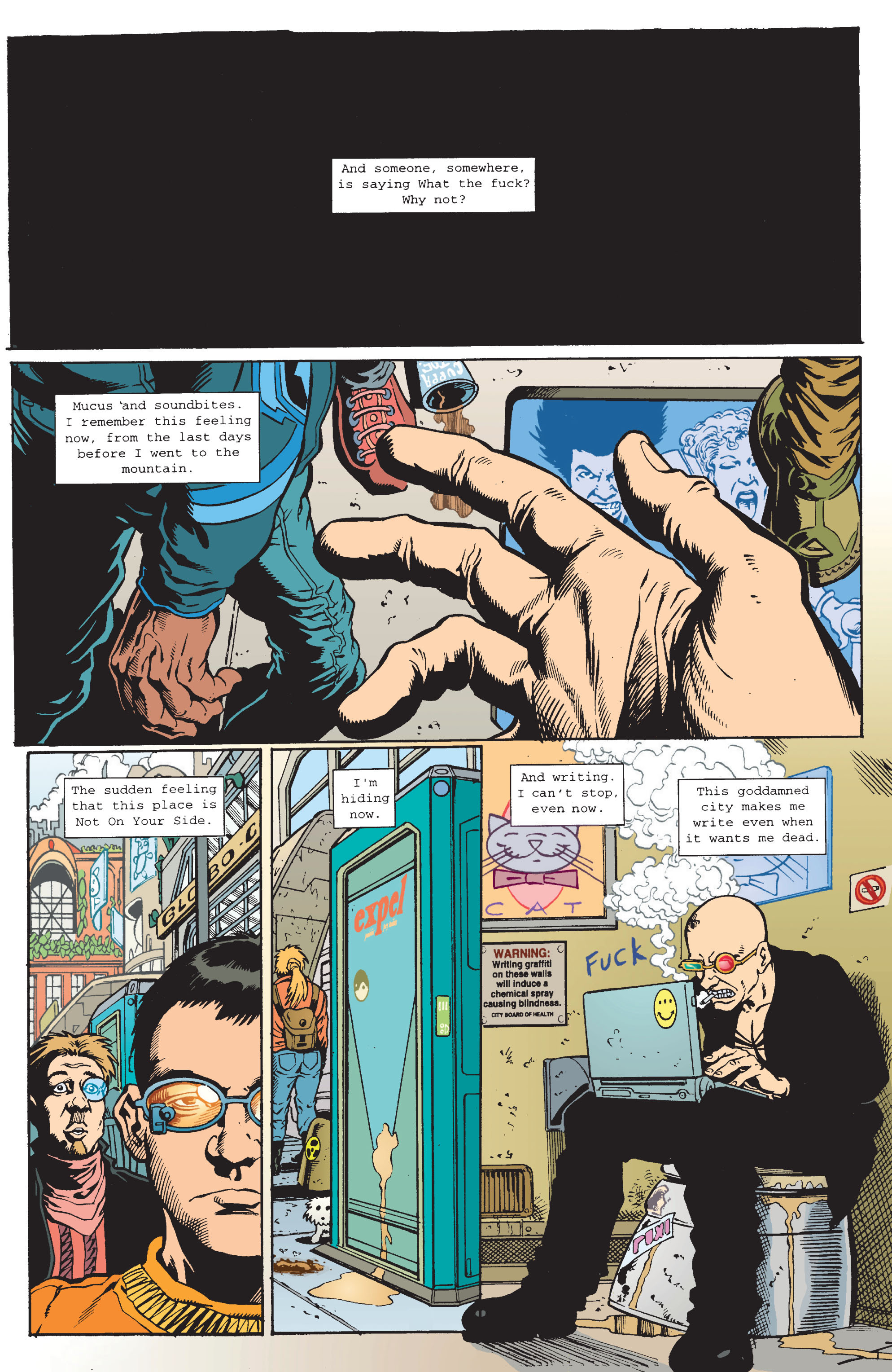 Read online Transmetropolitan comic -  Issue #11 - 13