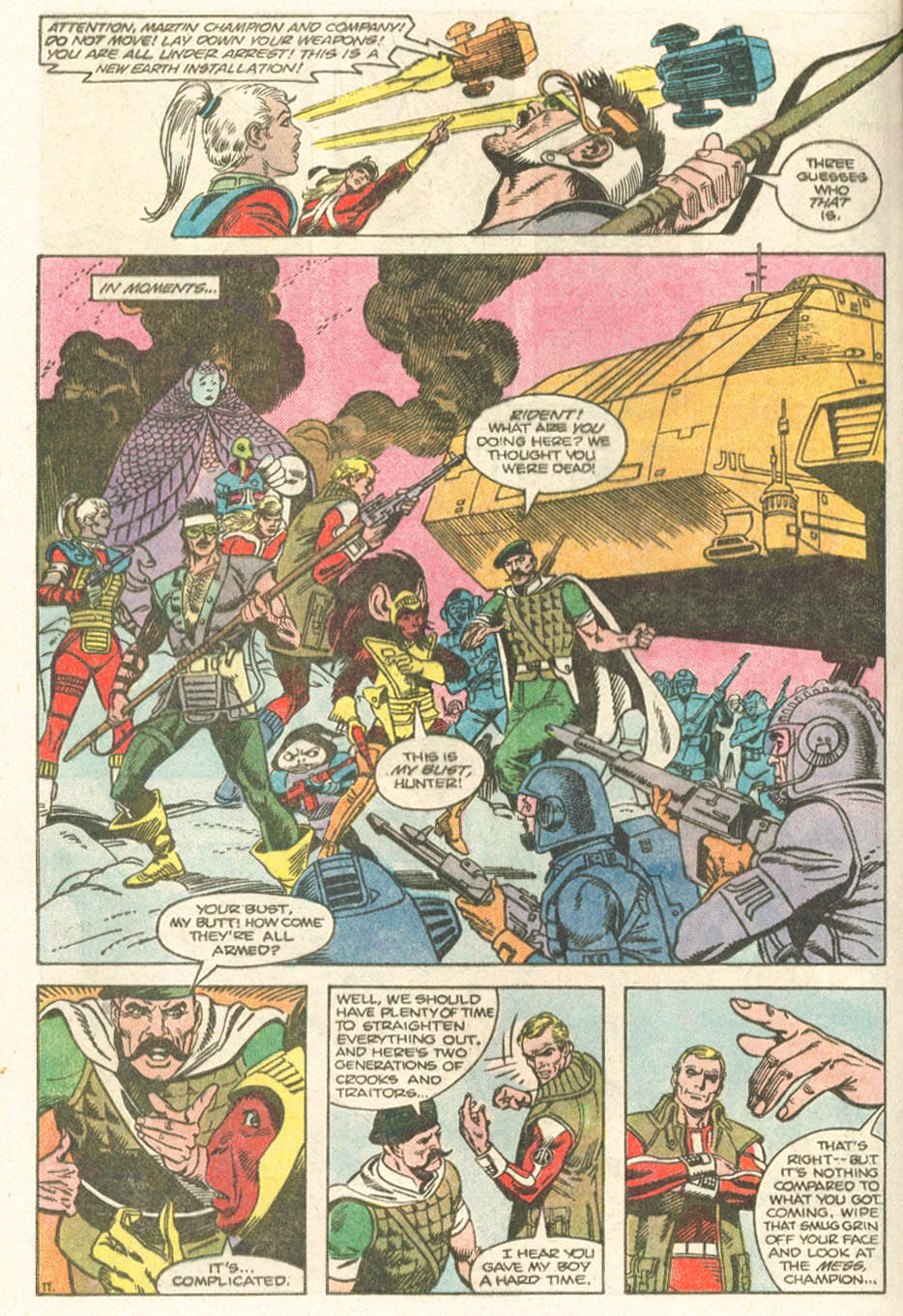 Read online Atari Force (1984) comic -  Issue #19 - 13