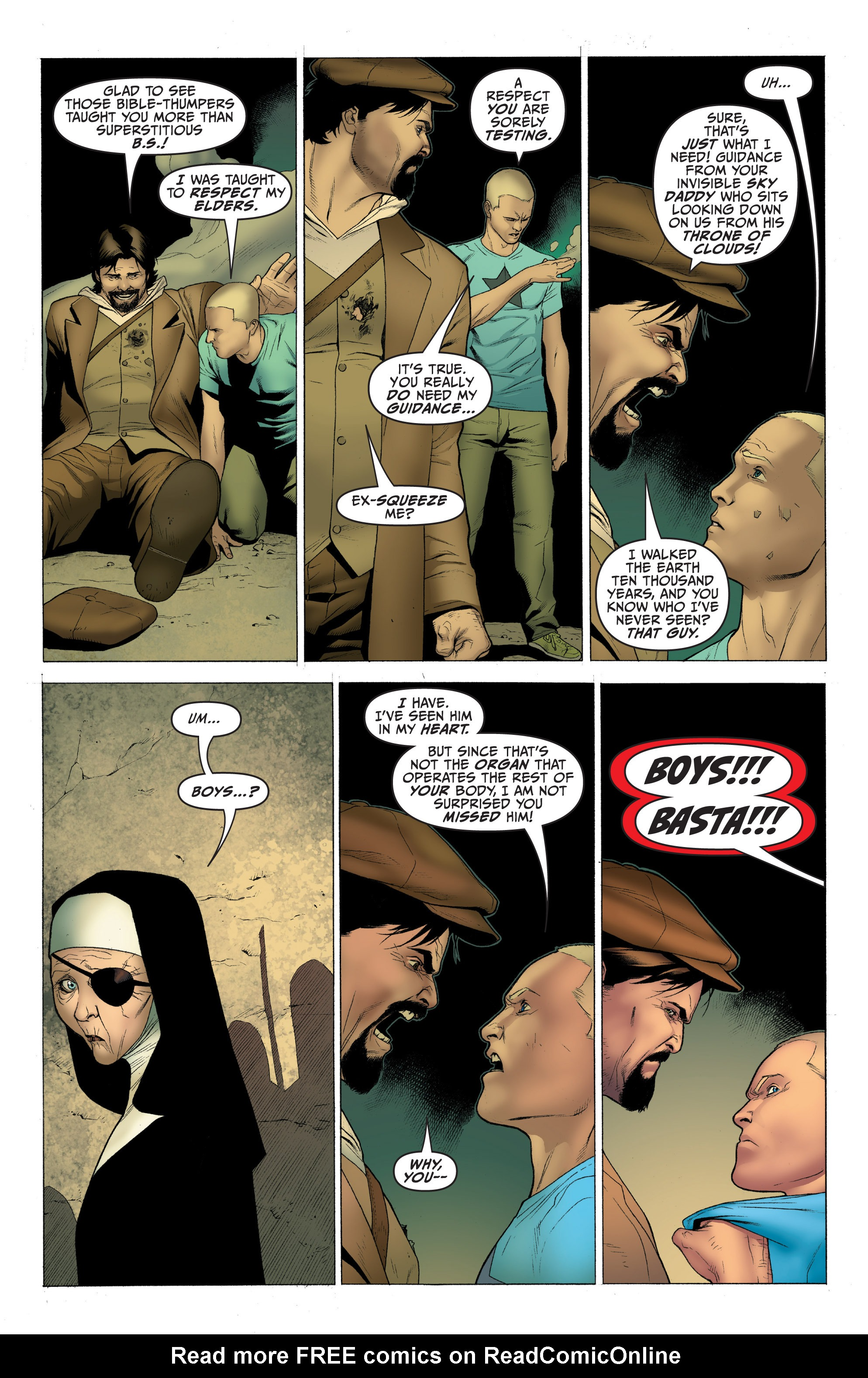 Read online Archer and Armstrong comic -  Issue #Archer and Armstrong _TPB 1 - 51
