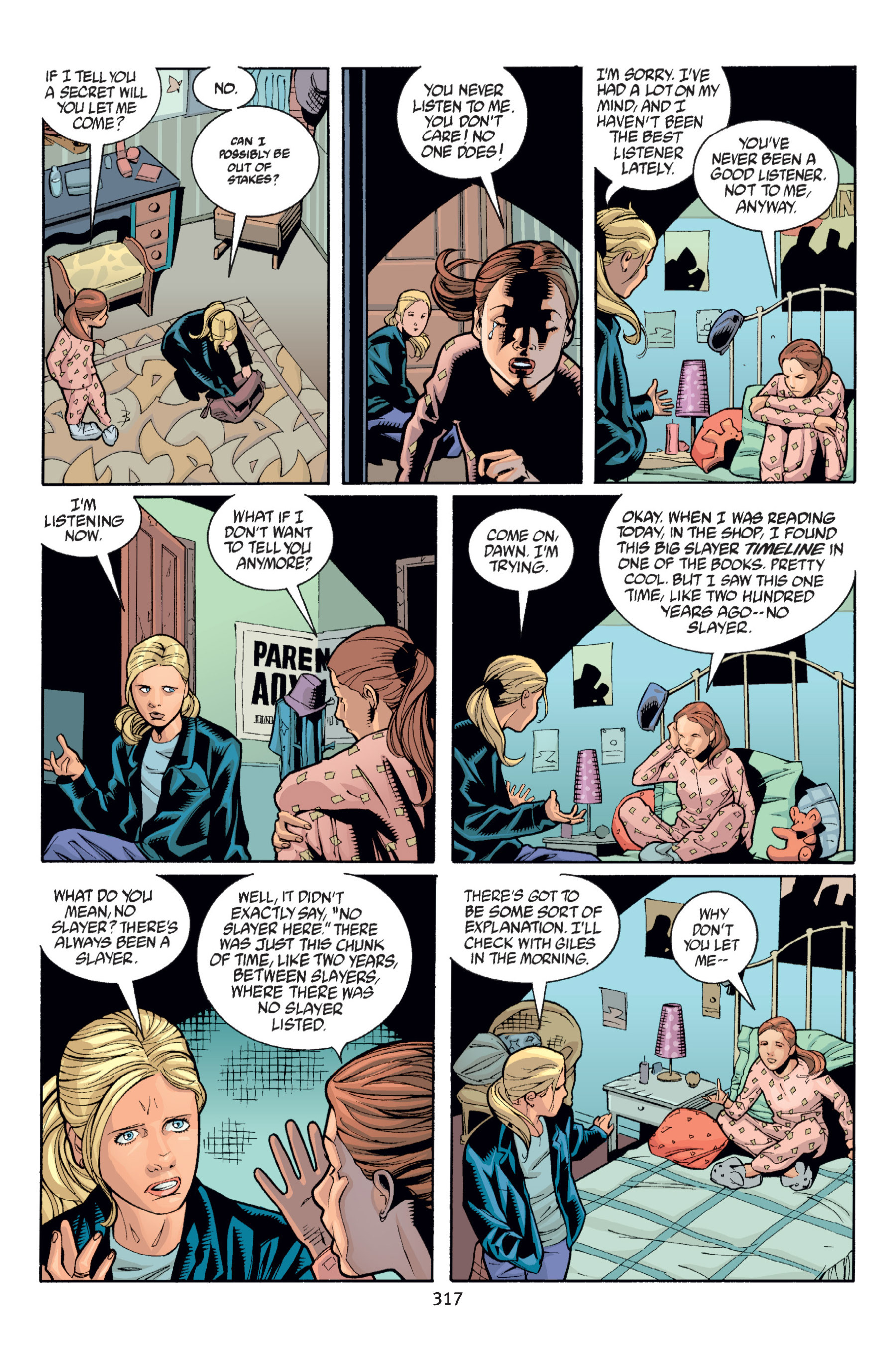 Read online Buffy the Vampire Slayer: Omnibus comic -  Issue # TPB 6 - 314