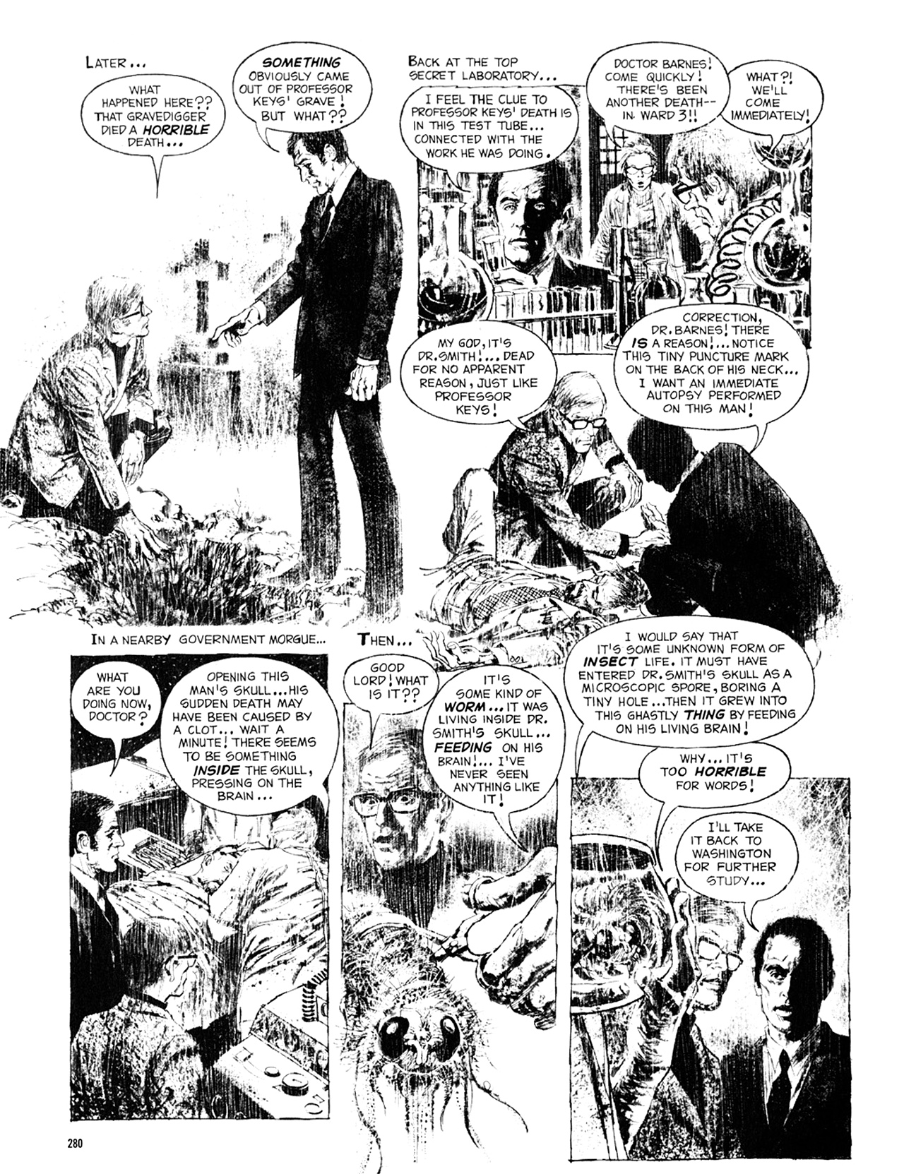 Read online Eerie Archives comic -  Issue # TPB 8 - 281